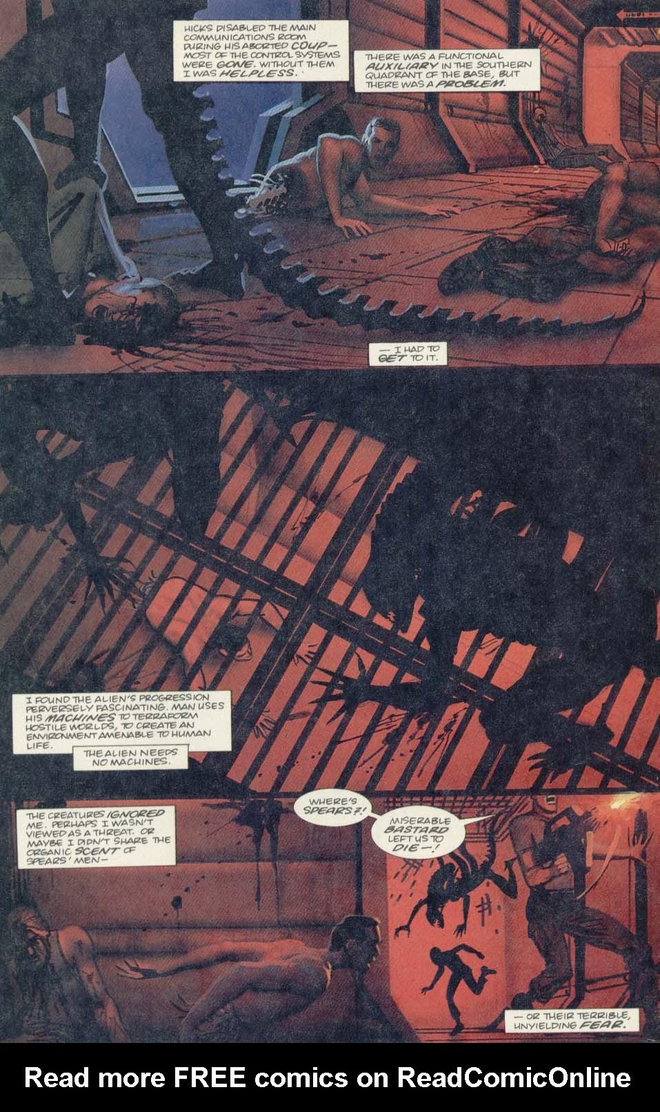 Read online Aliens (1989) comic -  Issue #4 - 6