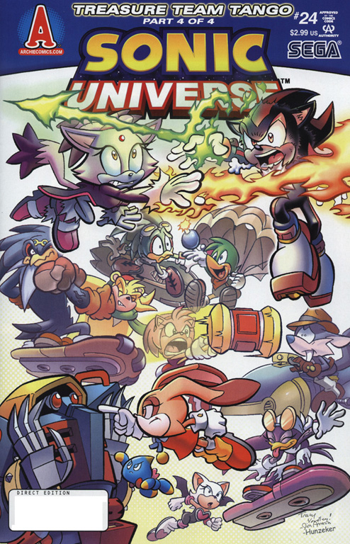 Read online Sonic Universe comic -  Issue #24 - 1