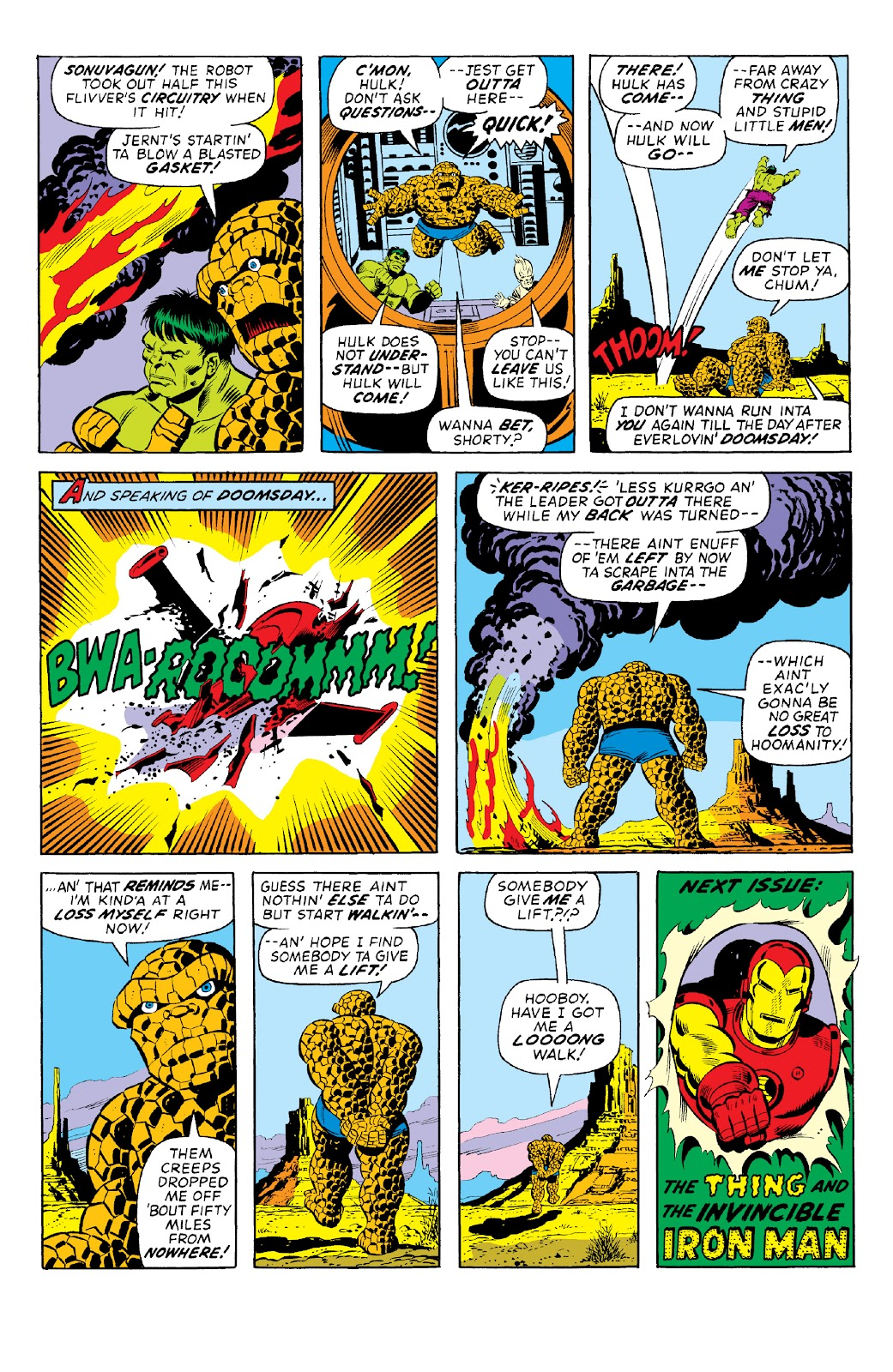 Read online Marvel Two-In-One Epic Collection: Cry Monster comic -  Issue # TPB (Part 1) - 24