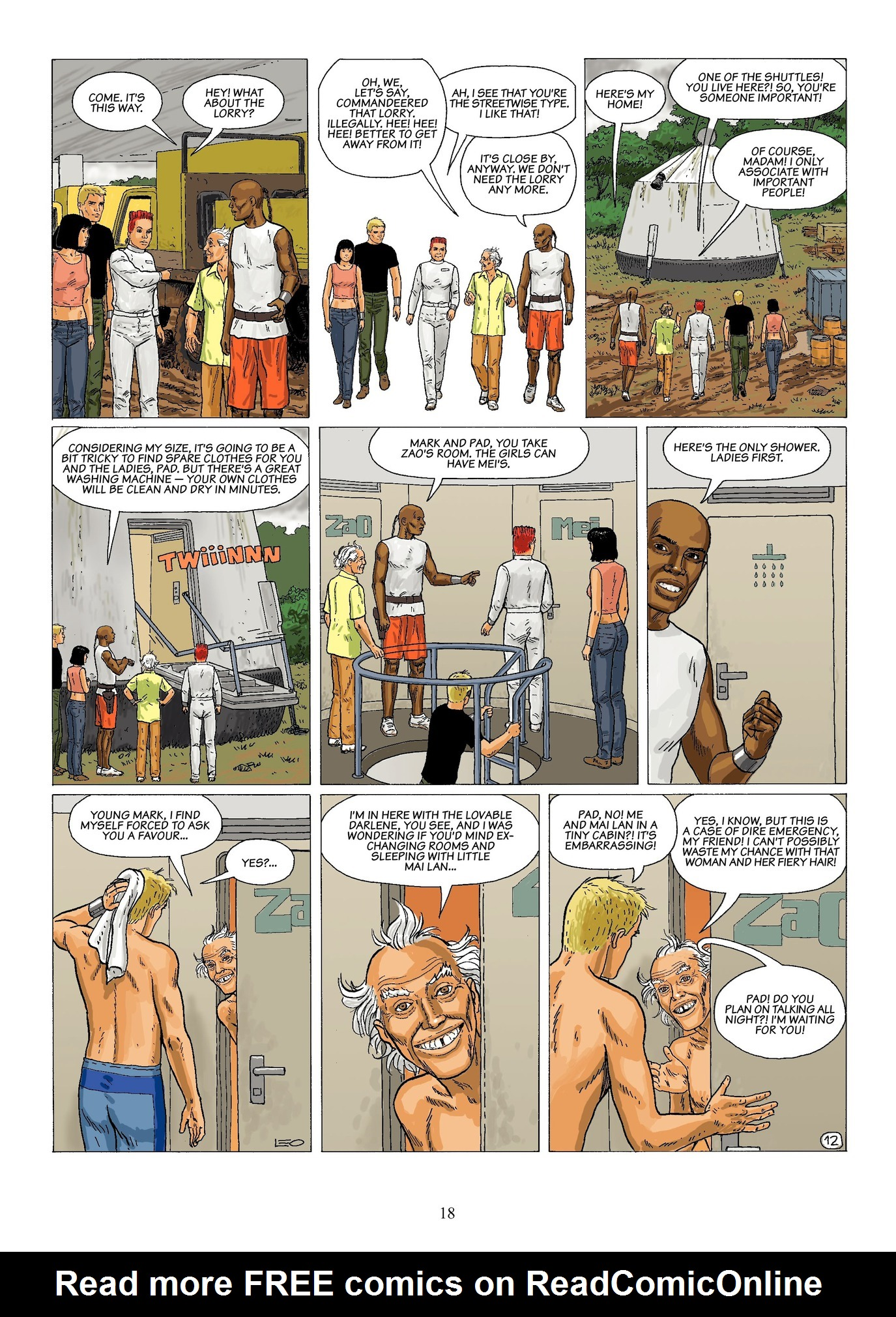 Read online Antares comic -  Issue #6 - 20