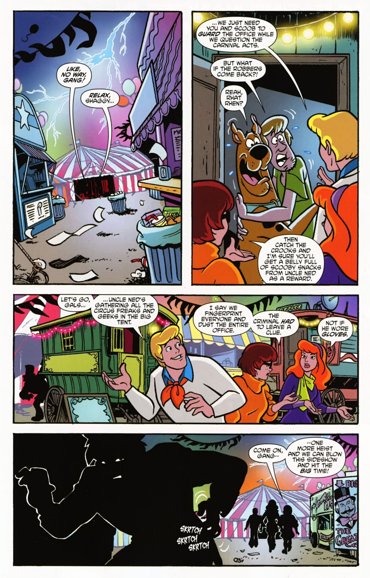 Read online Scooby-Doo: Where Are You? comic -  Issue #5 - 7