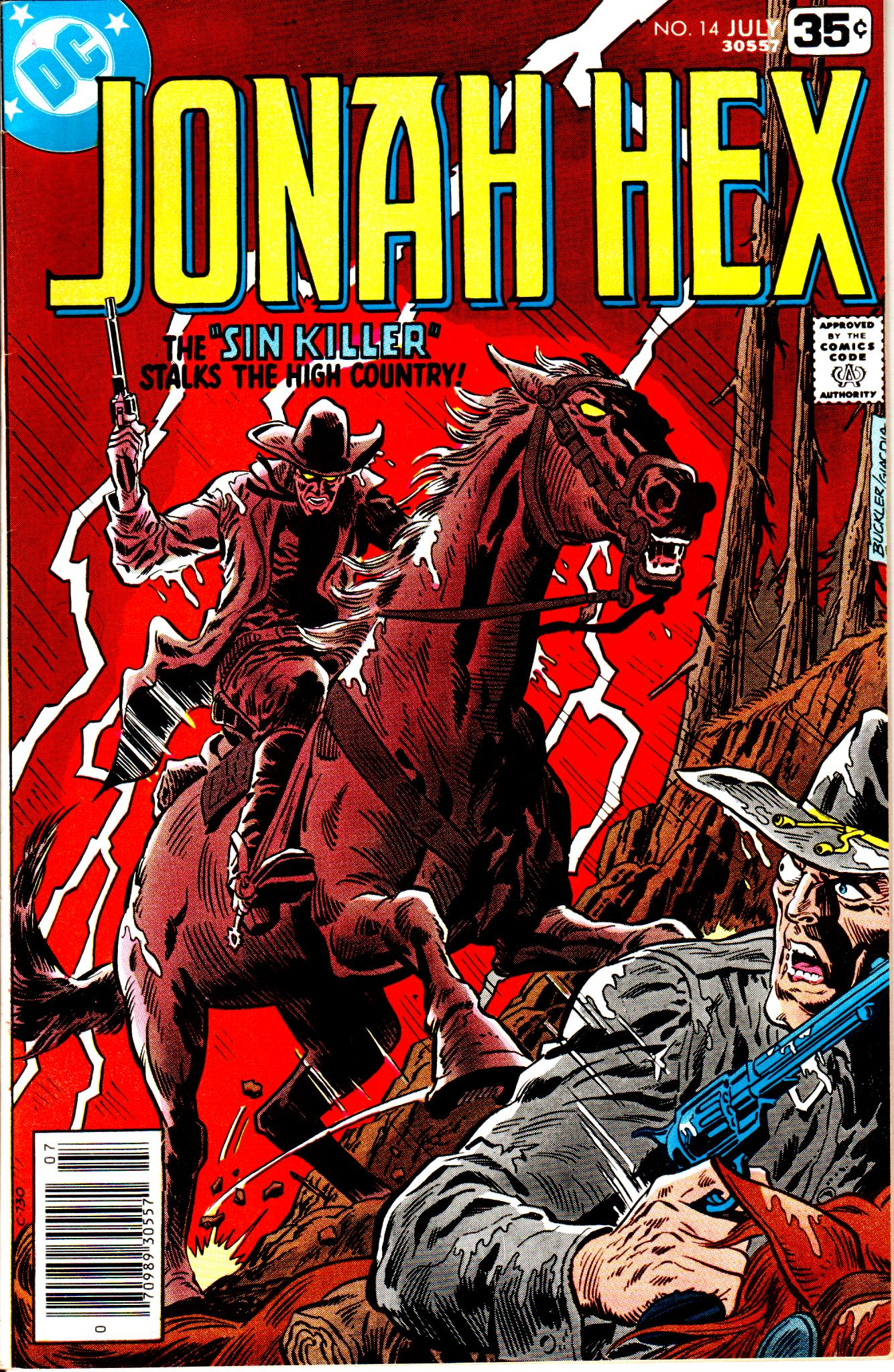 Jonah Hex (1977) 14 Page 1