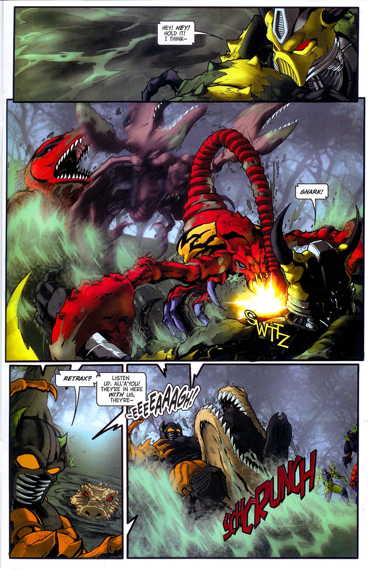 Read online Transformers, Beast Wars: The Gathering comic -  Issue #3 - 10
