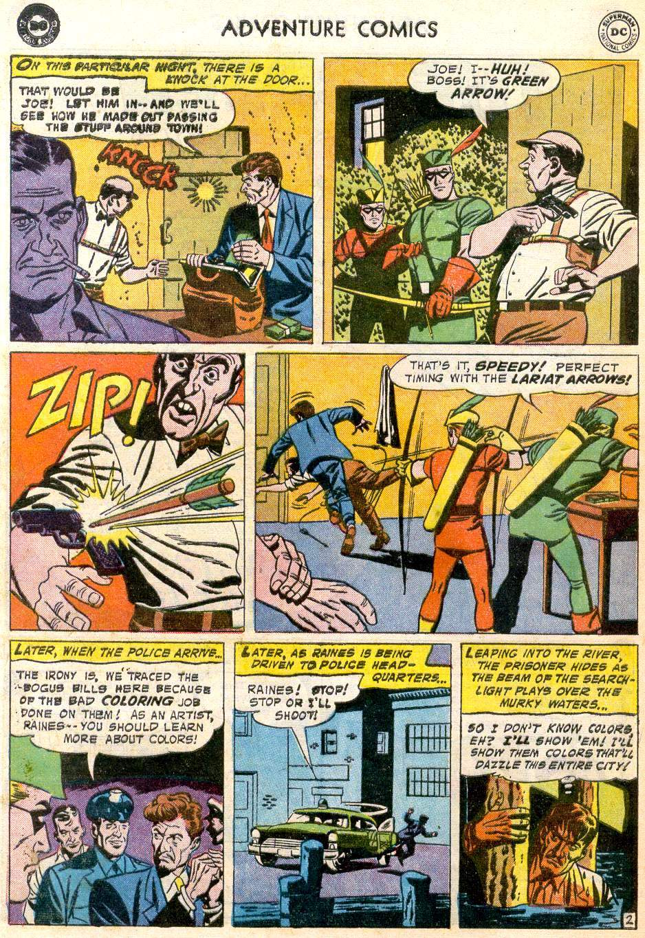 Read online Adventure Comics (1938) comic -  Issue #246 - 28