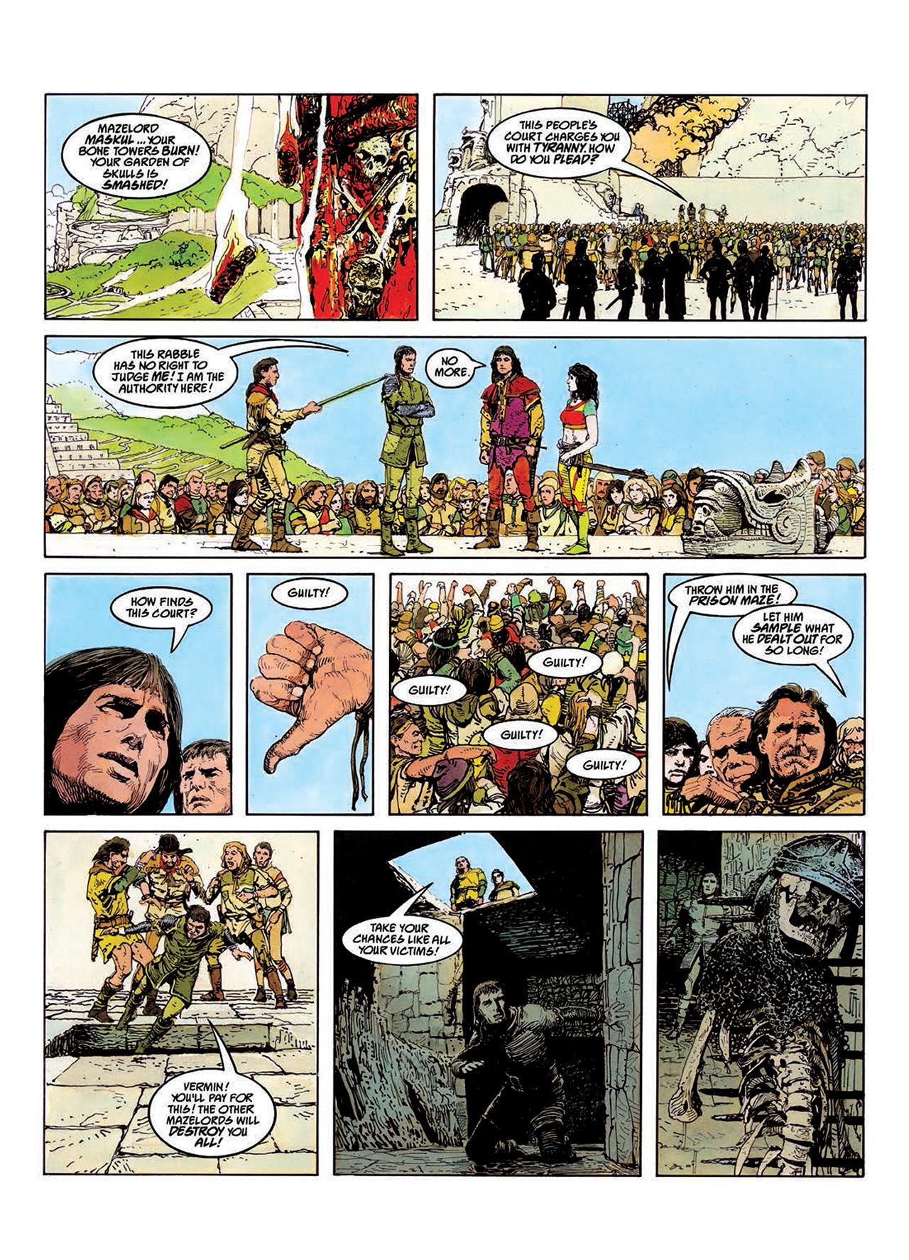 Read online Mazeworld comic -  Issue # TPB - 59