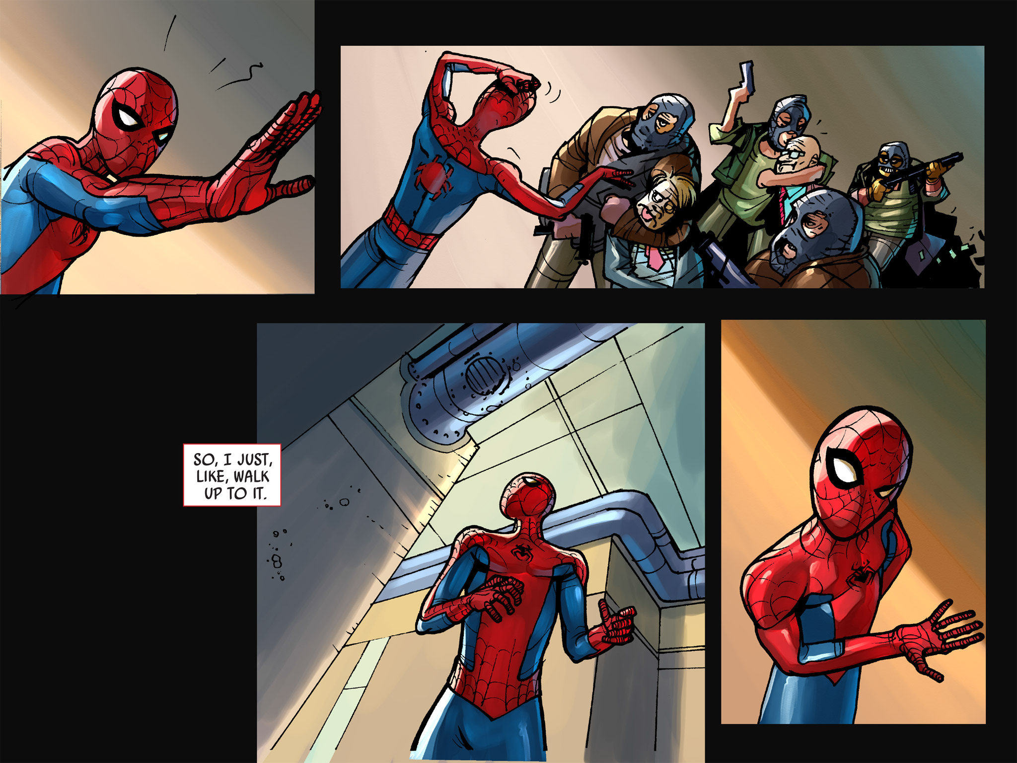 Read online Amazing Spider-Man: Who Am I? comic -  Issue # Full (Part 1) - 35