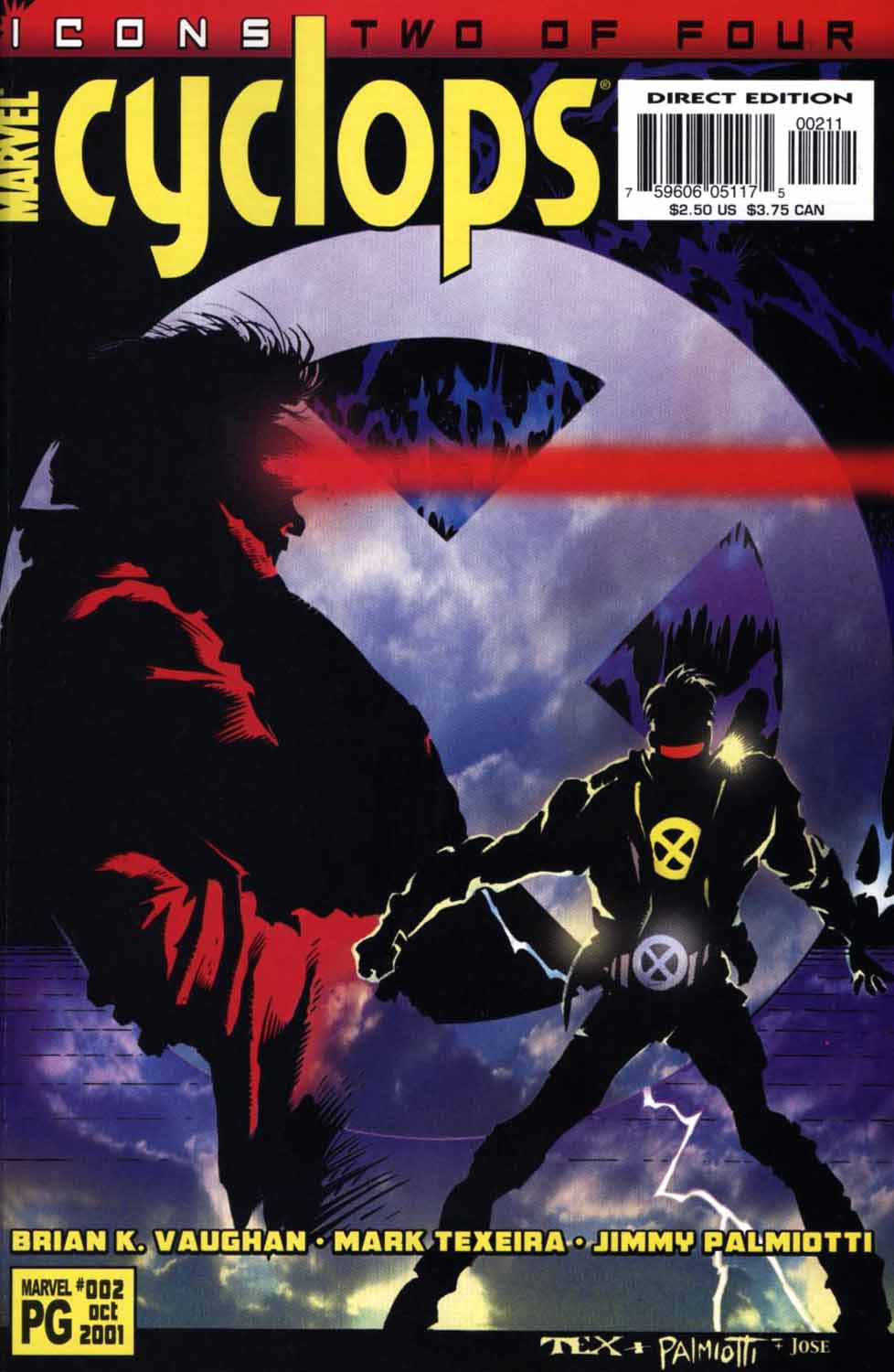 Read online Cyclops (2001) comic -  Issue #2 - 1