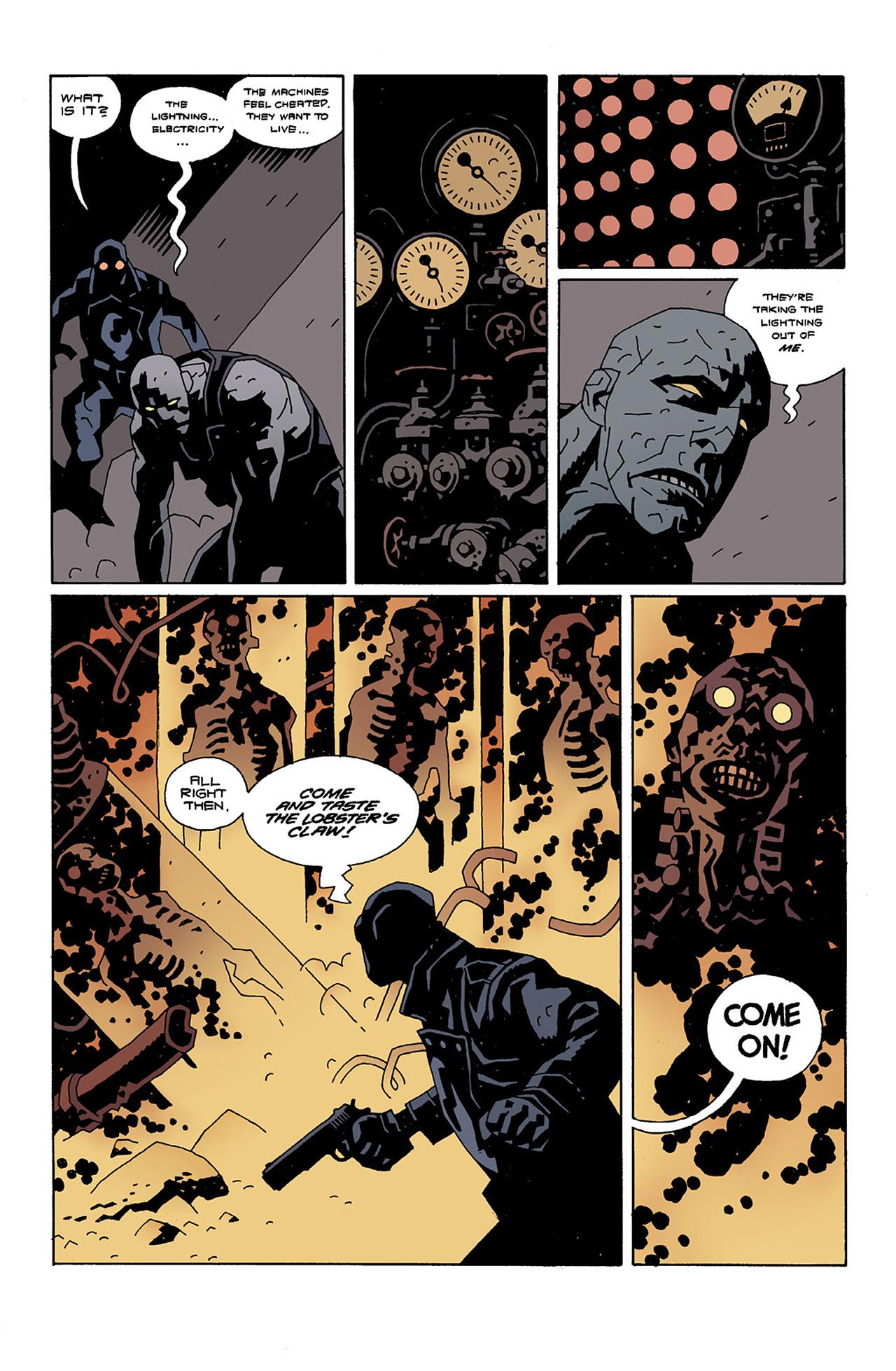 Read online Hellboy: Conqueror Worm comic -  Issue #2 - 16