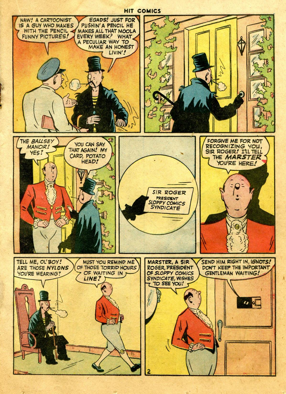 Read online Hit Comics comic -  Issue #44 - 25