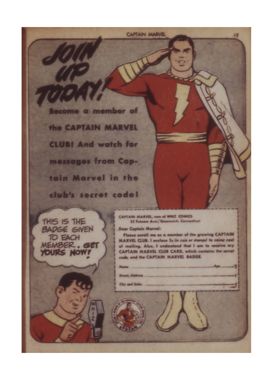 Captain Marvel Adventures issue 11 - Page 19