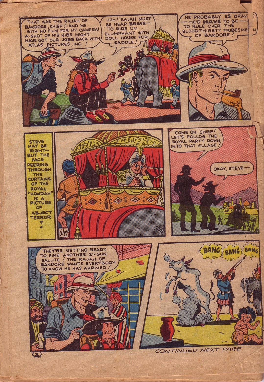 Read online Famous Funnies comic -  Issue #107 - 57
