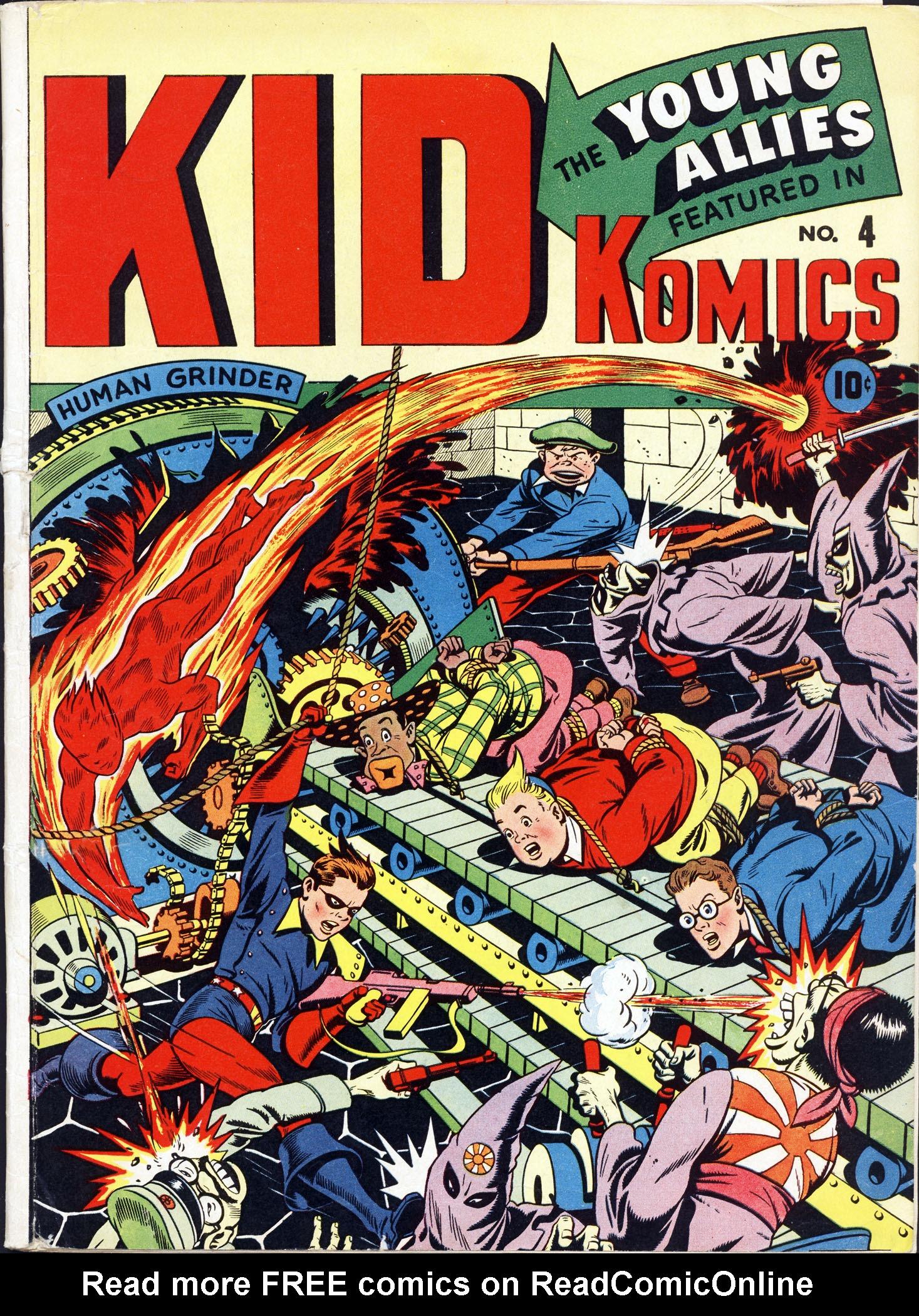 Kid Komics 4 Page 1