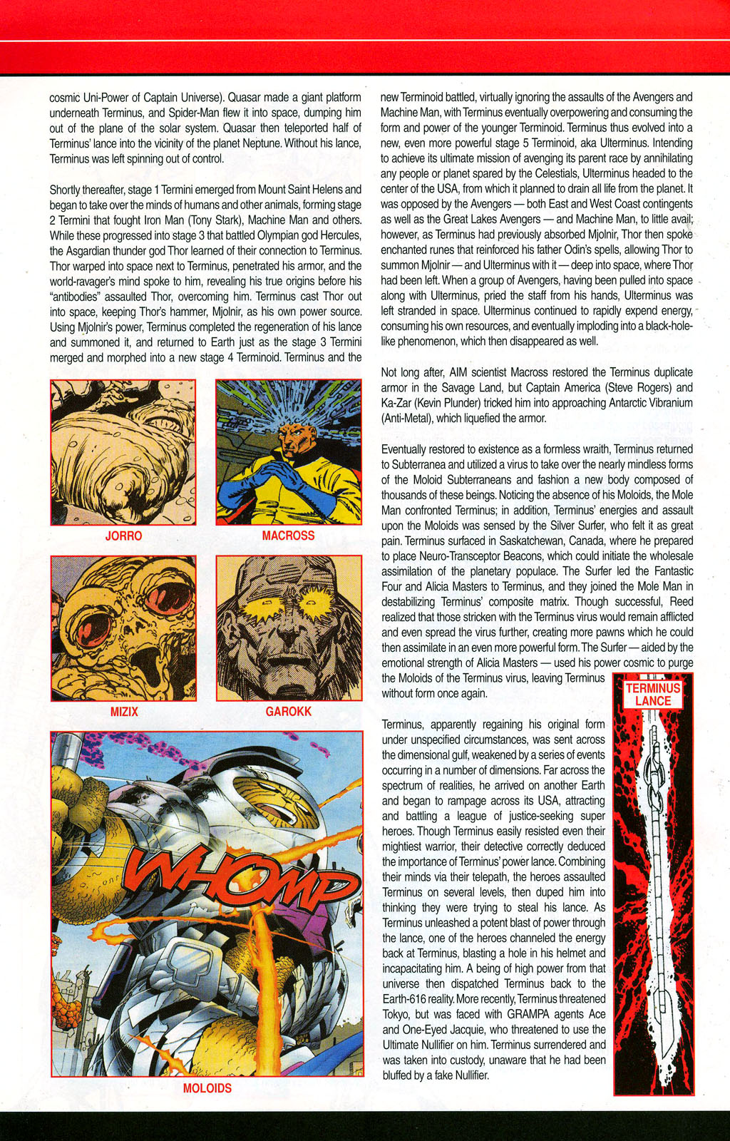Read online All-New Official Handbook of the Marvel Universe A to Z: Update comic -  Issue #3 - 62