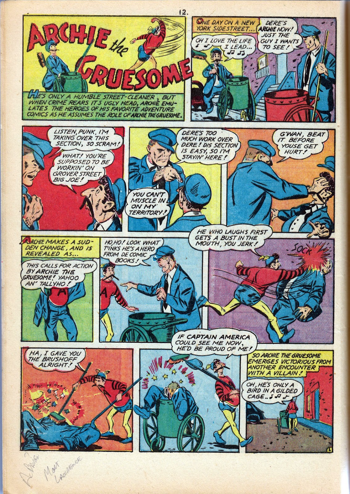 Read online Comedy Comics (1942) comic -  Issue #10 - 14