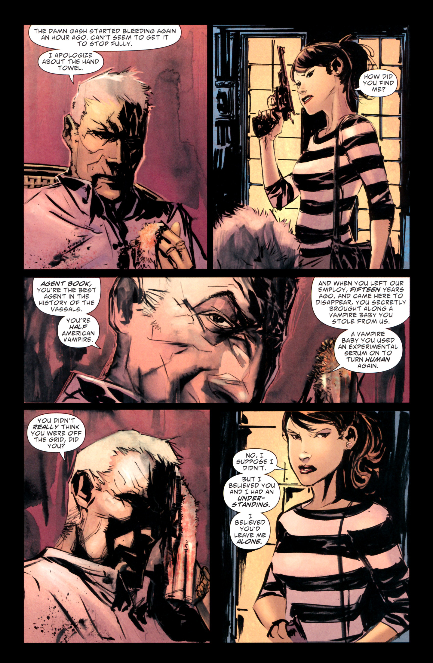 Read online American Vampire: Lord of Nightmares comic -  Issue #1 - 25