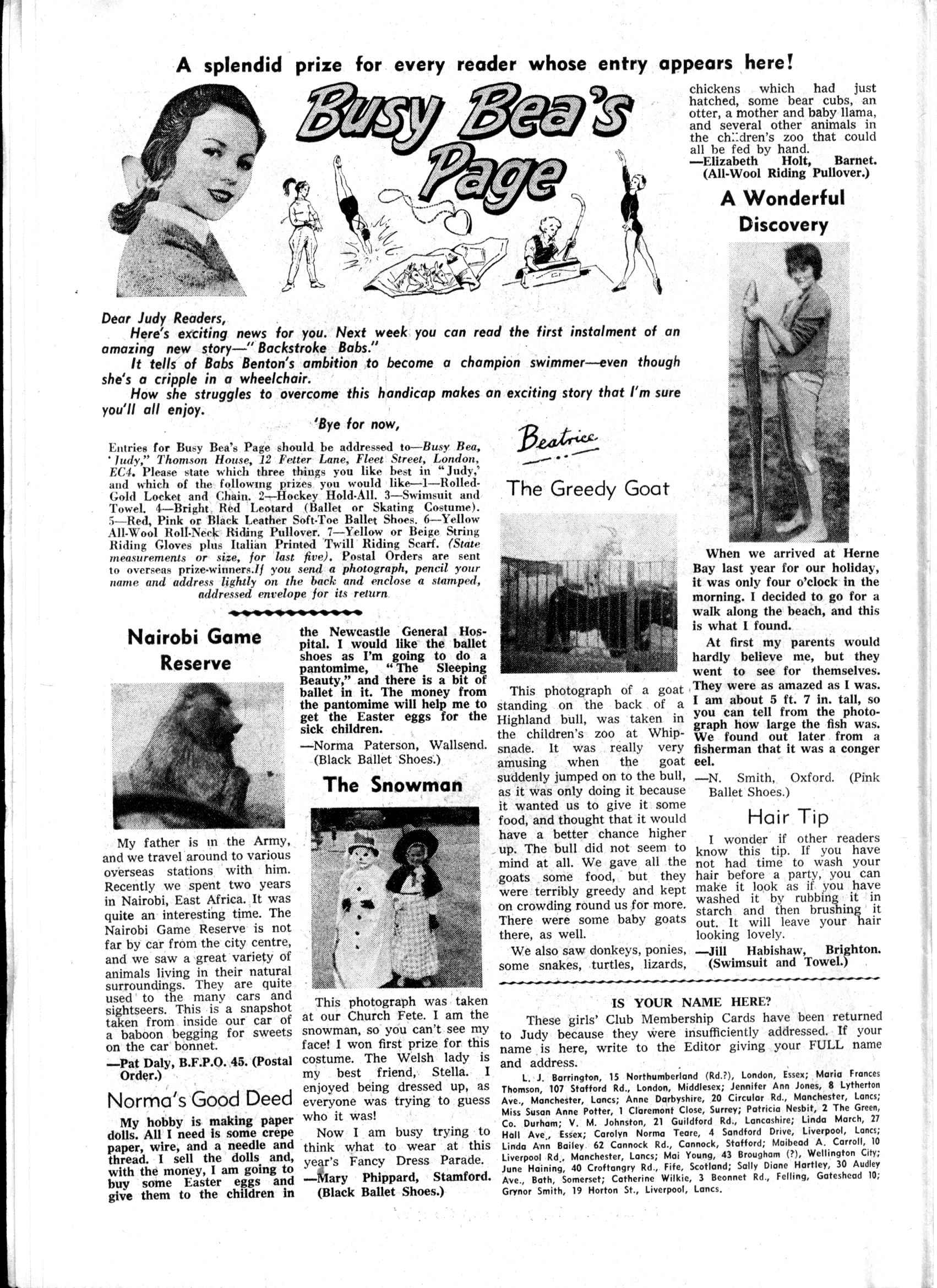 Read online Judy comic -  Issue #168 - 8
