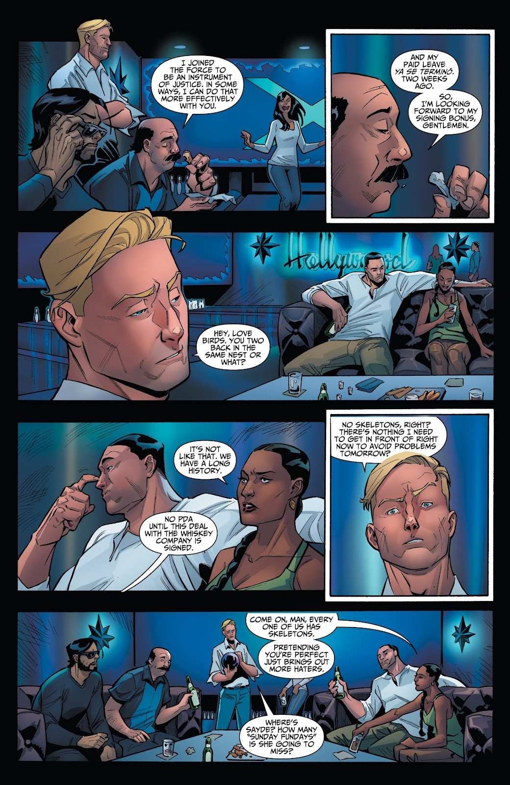 Read online Incidentals comic -  Issue #15 - 7