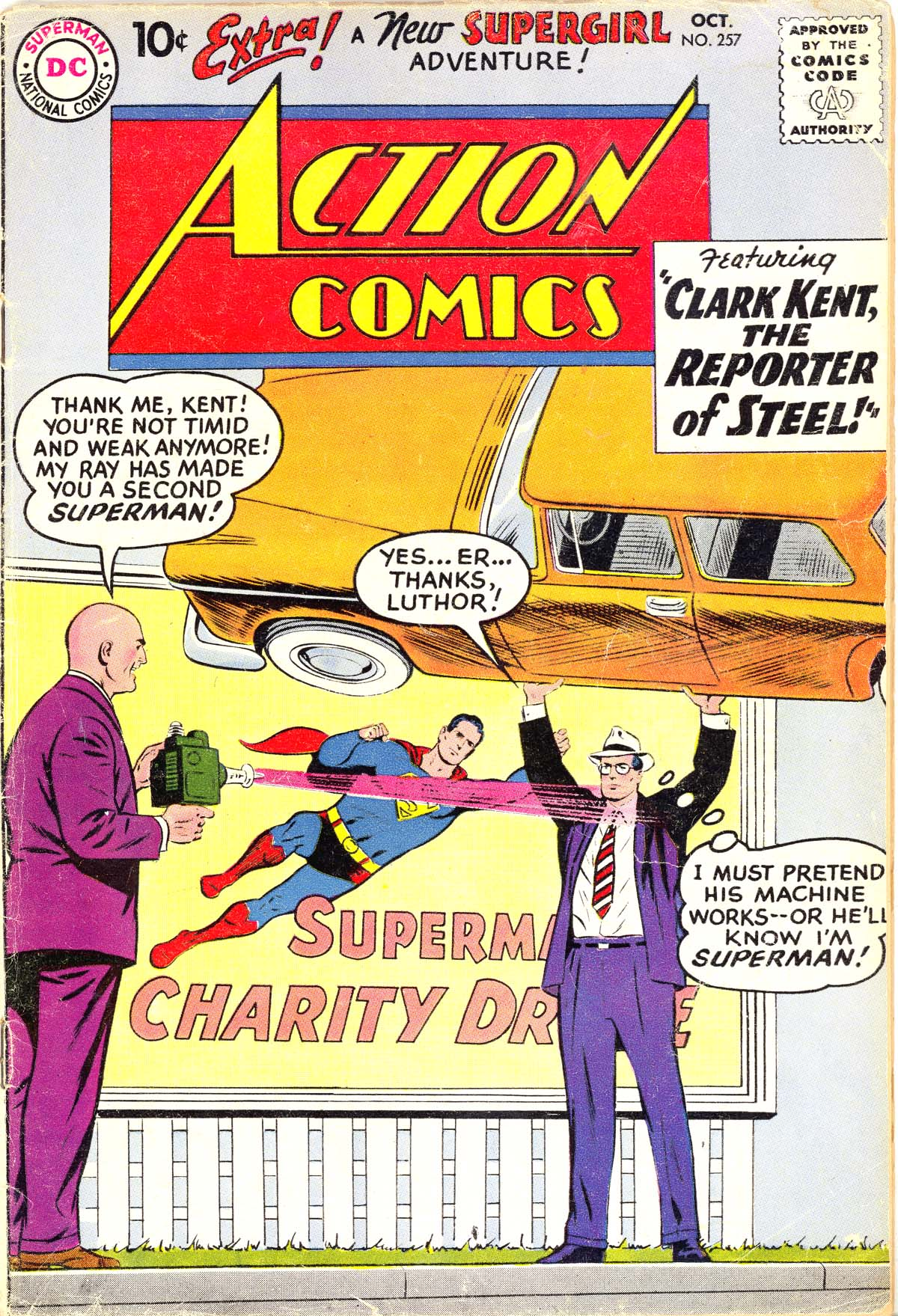 Read online Action Comics (1938) comic -  Issue #257 - 1