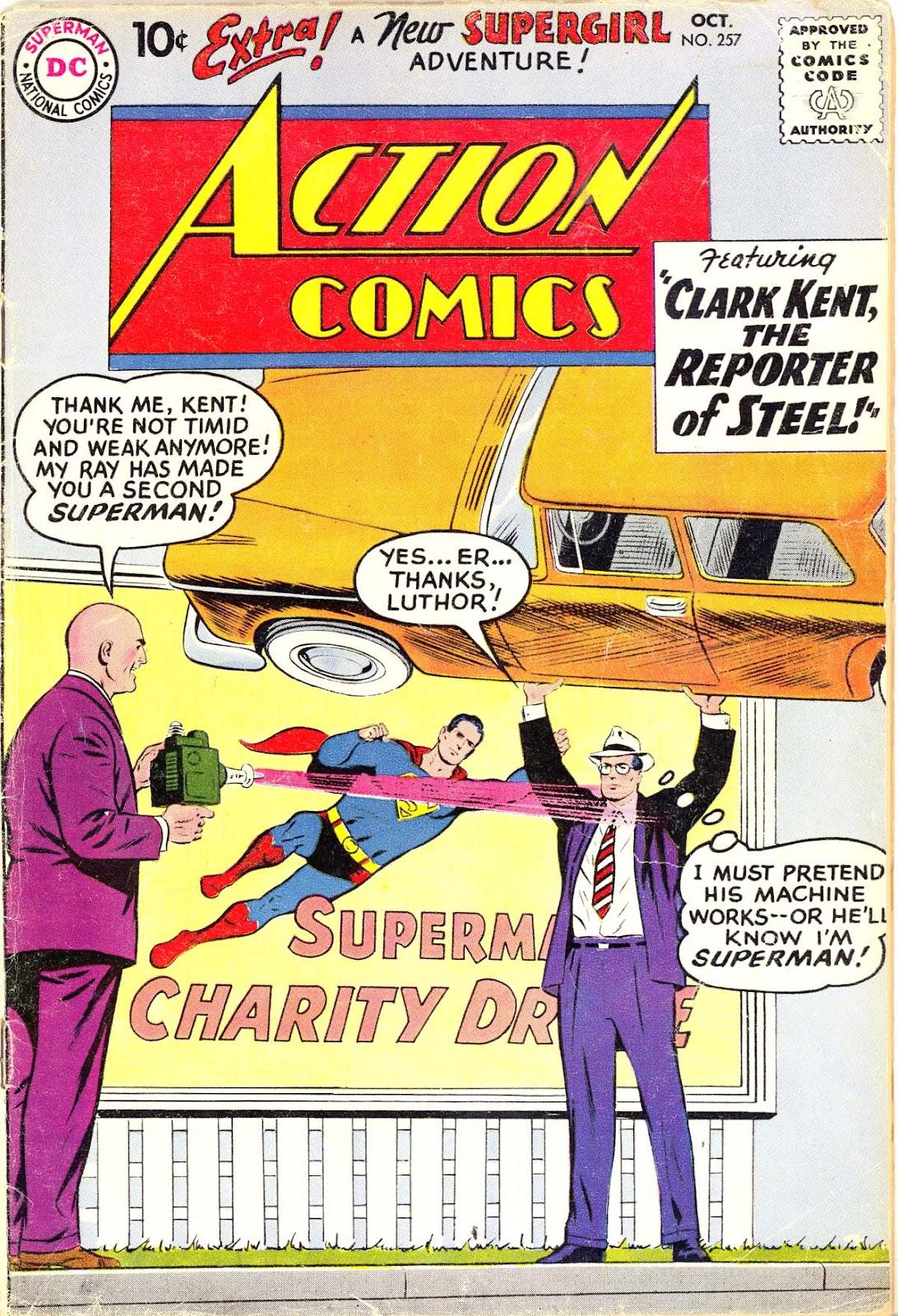 Action Comics (1938) 257 Page 1