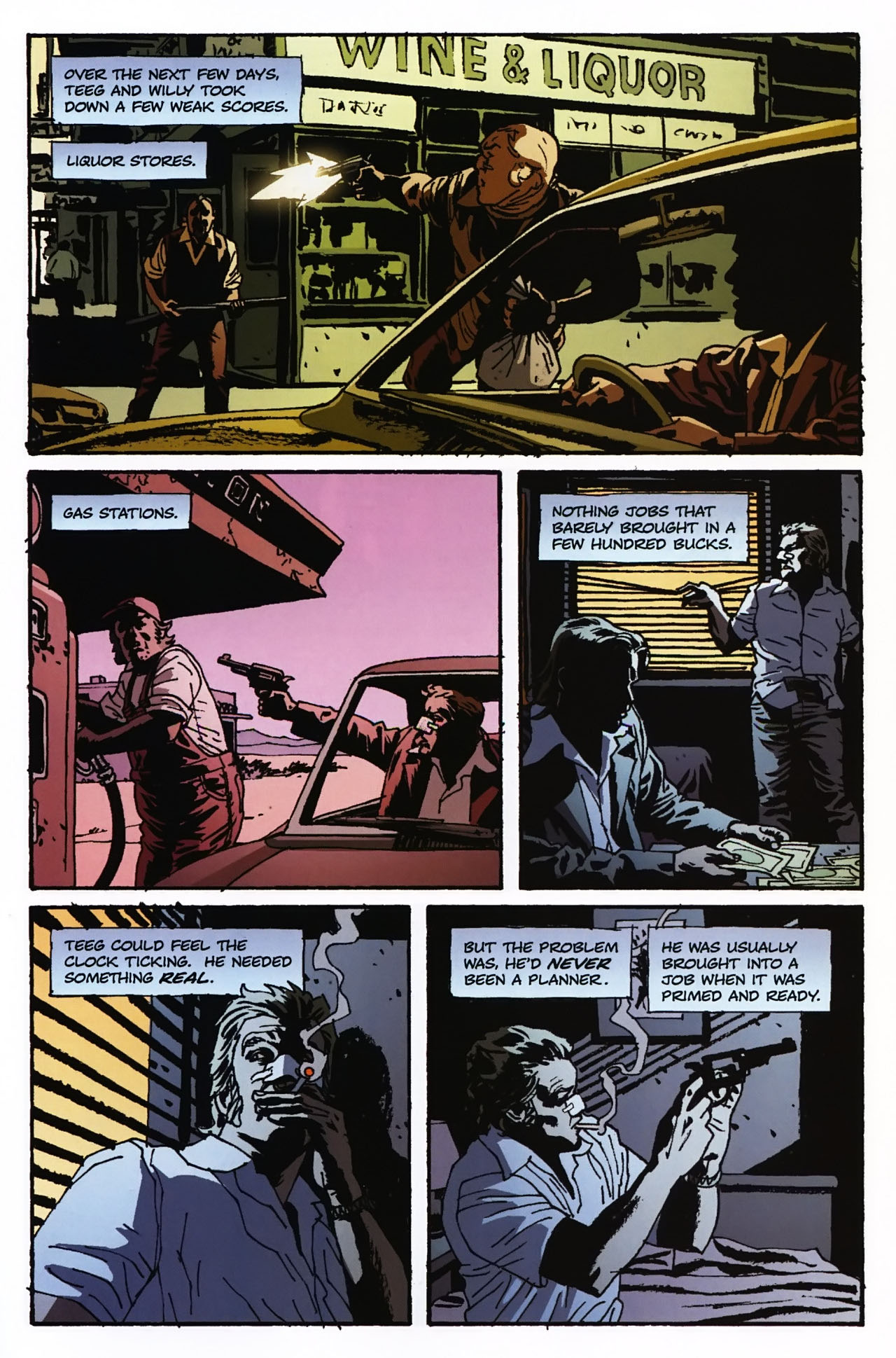Read online Criminal (2008) comic -  Issue #2 - 12