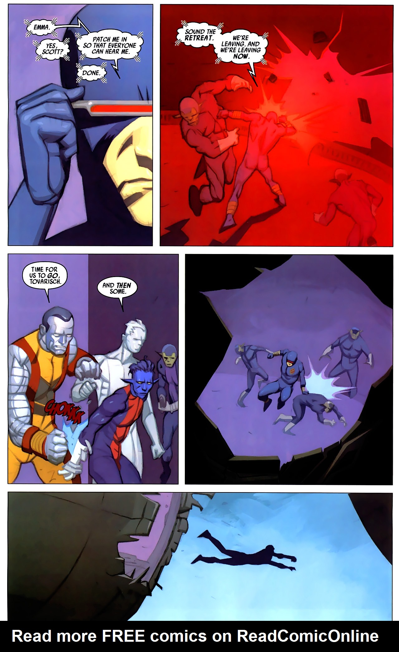 Read online Secret Invasion: X-Men comic -  Issue #4 - 21
