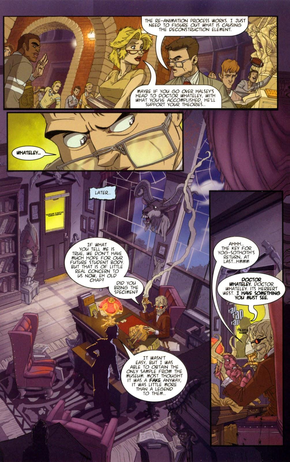Read online Re-Animator comic -  Issue # Full - 6