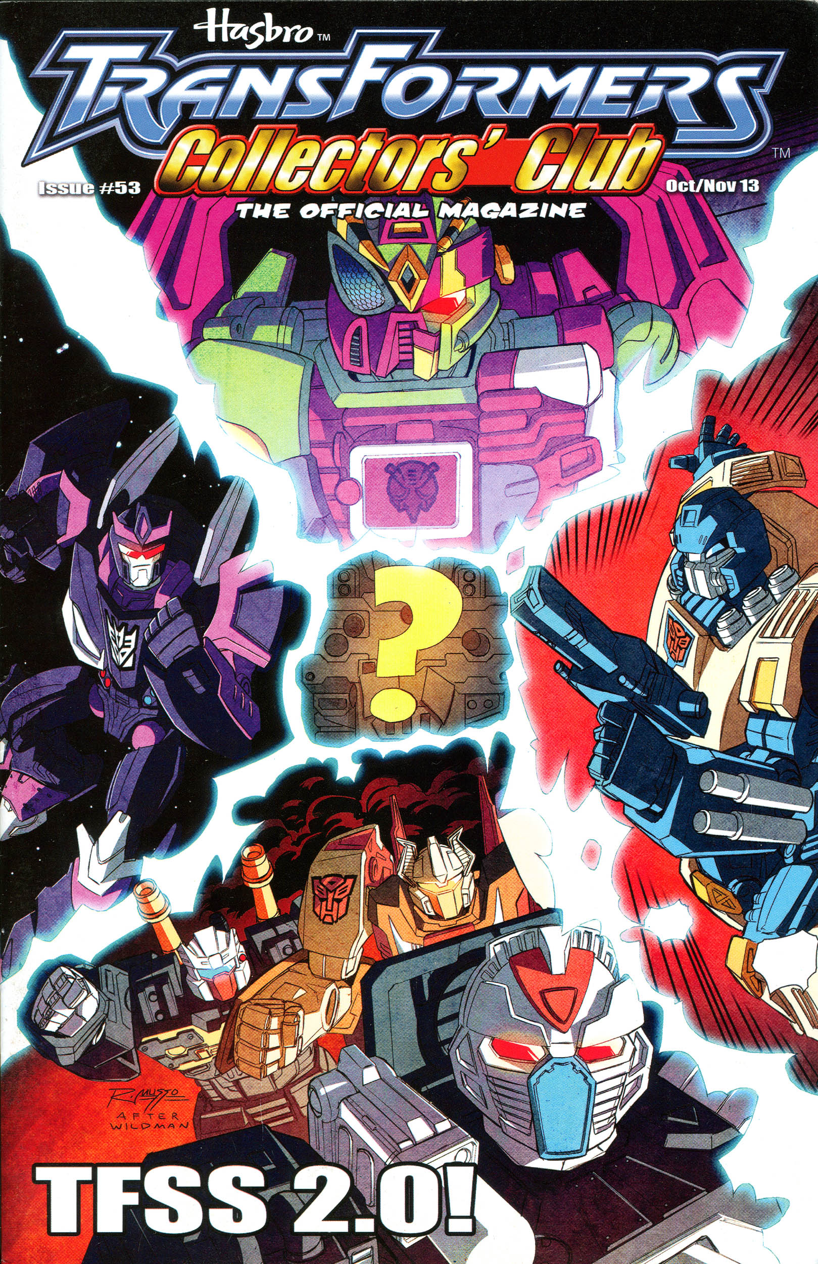 Read online Transformers: Collectors' Club comic -  Issue #53 - 1