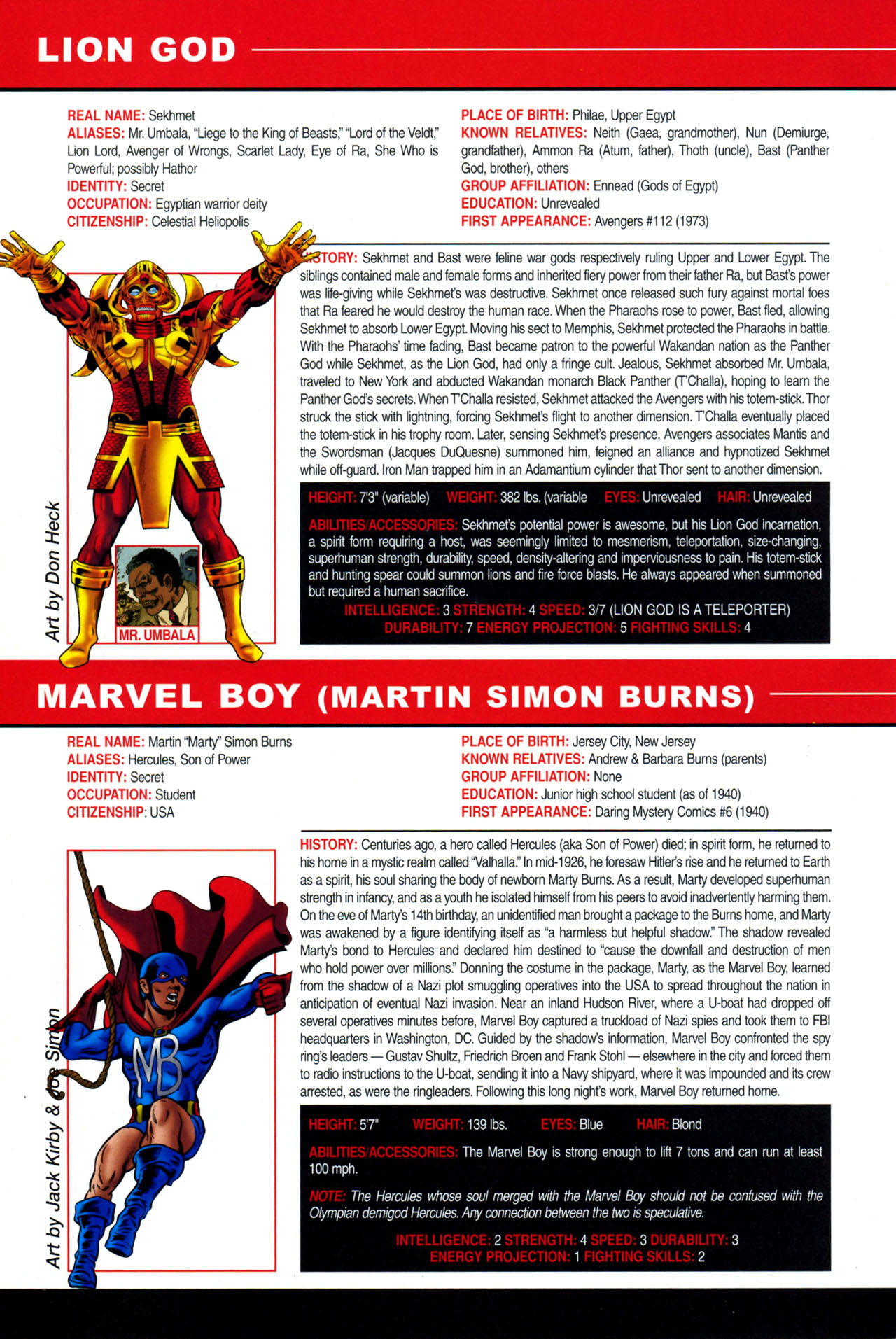 Read online All-New Official Handbook of the Marvel Universe A to Z: Update comic -  Issue #4 - 64