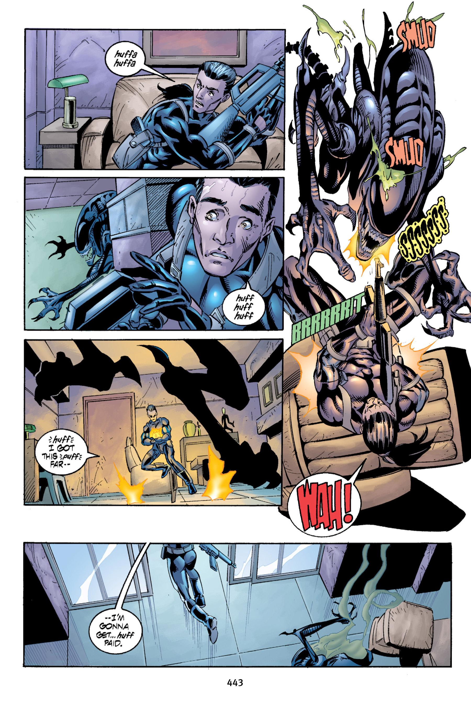 Read online Aliens vs. Predator Omnibus comic -  Issue # _TPB 2 Part 4 - 105