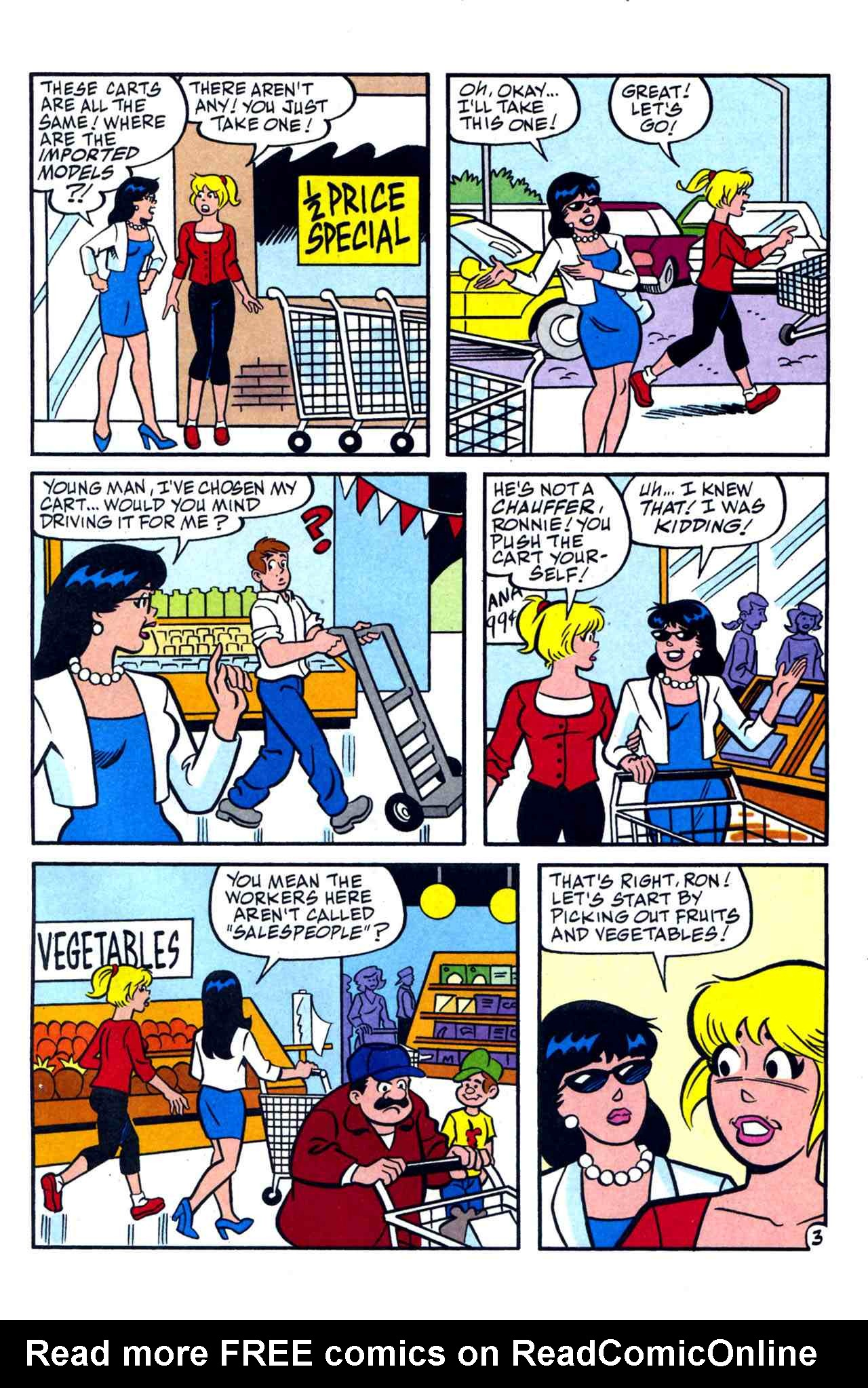 Read online Archie's Girls Betty and Veronica comic -  Issue #230 - 15