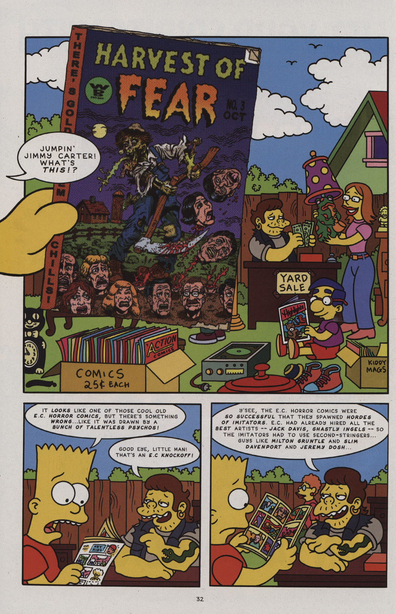 Read online Treehouse of Horror comic -  Issue #17 - 33