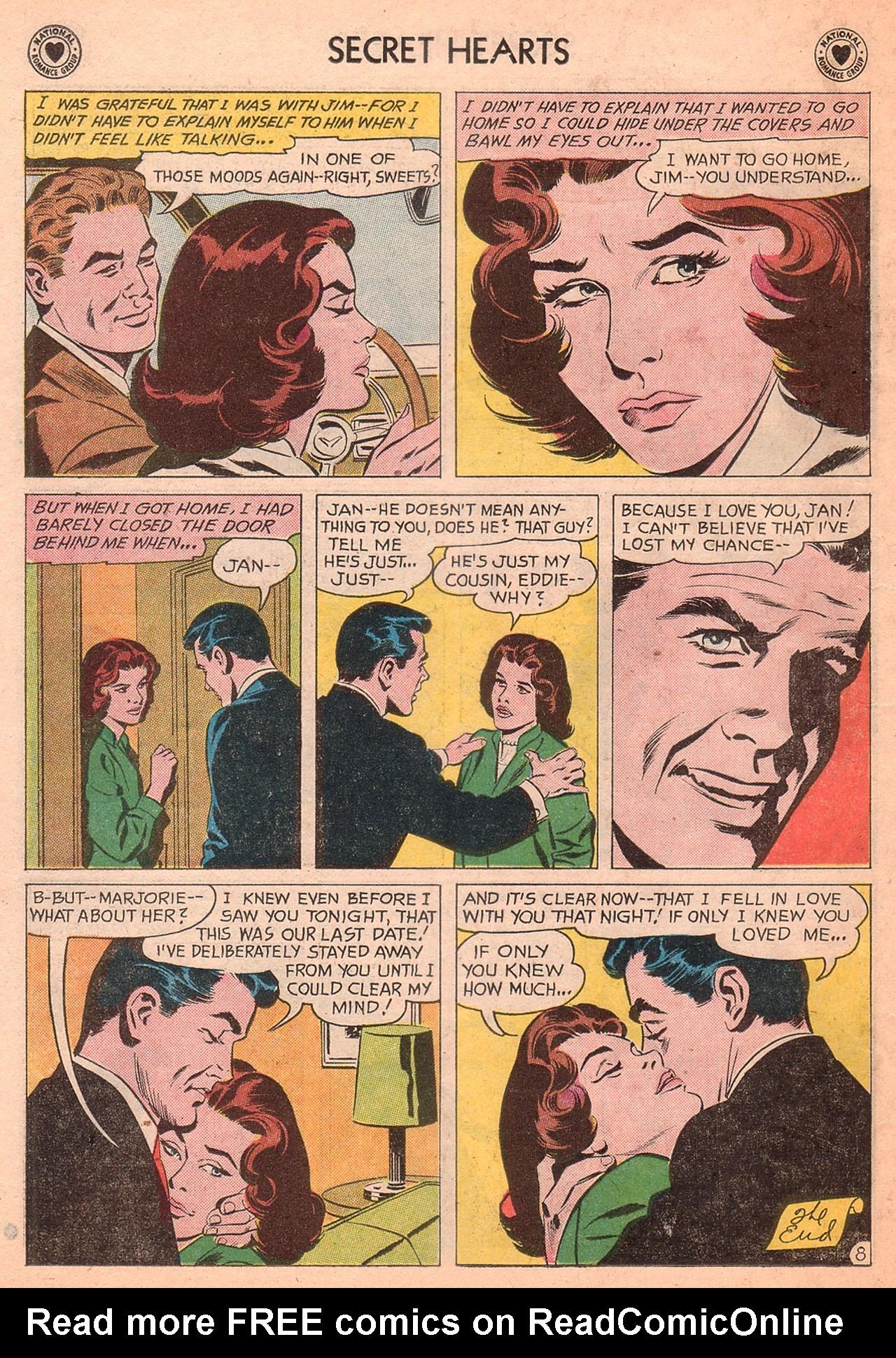 Read online Secret Hearts comic -  Issue #77 - 10