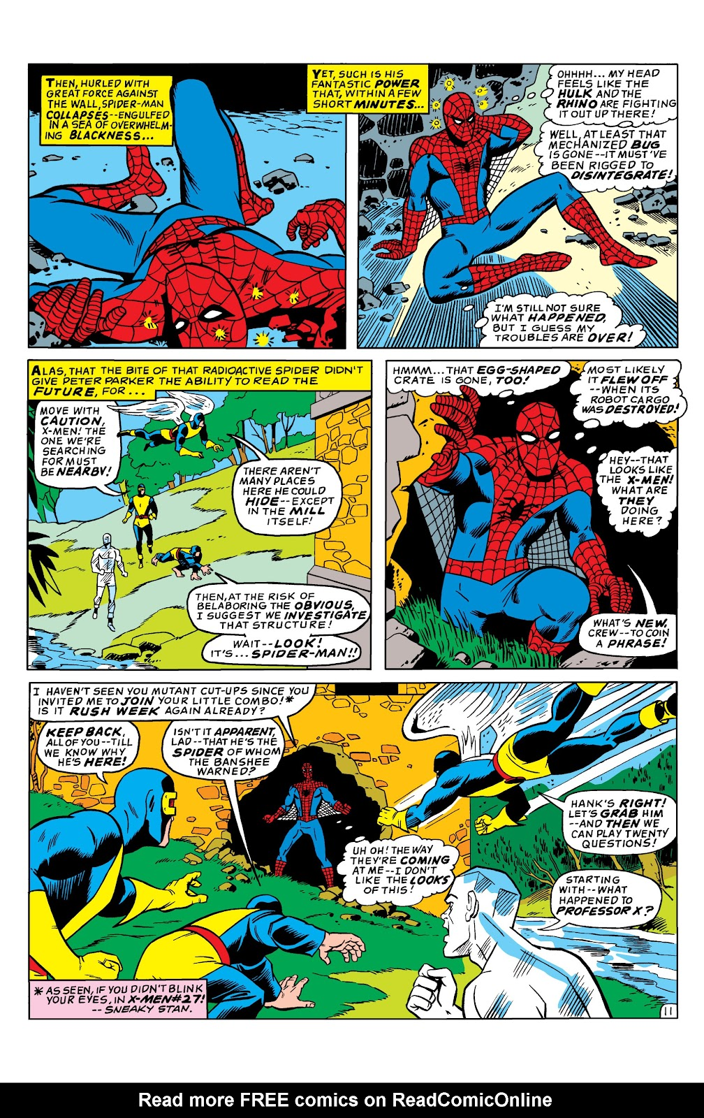 Uncanny X-Men (1963) issue 35 - Page 12