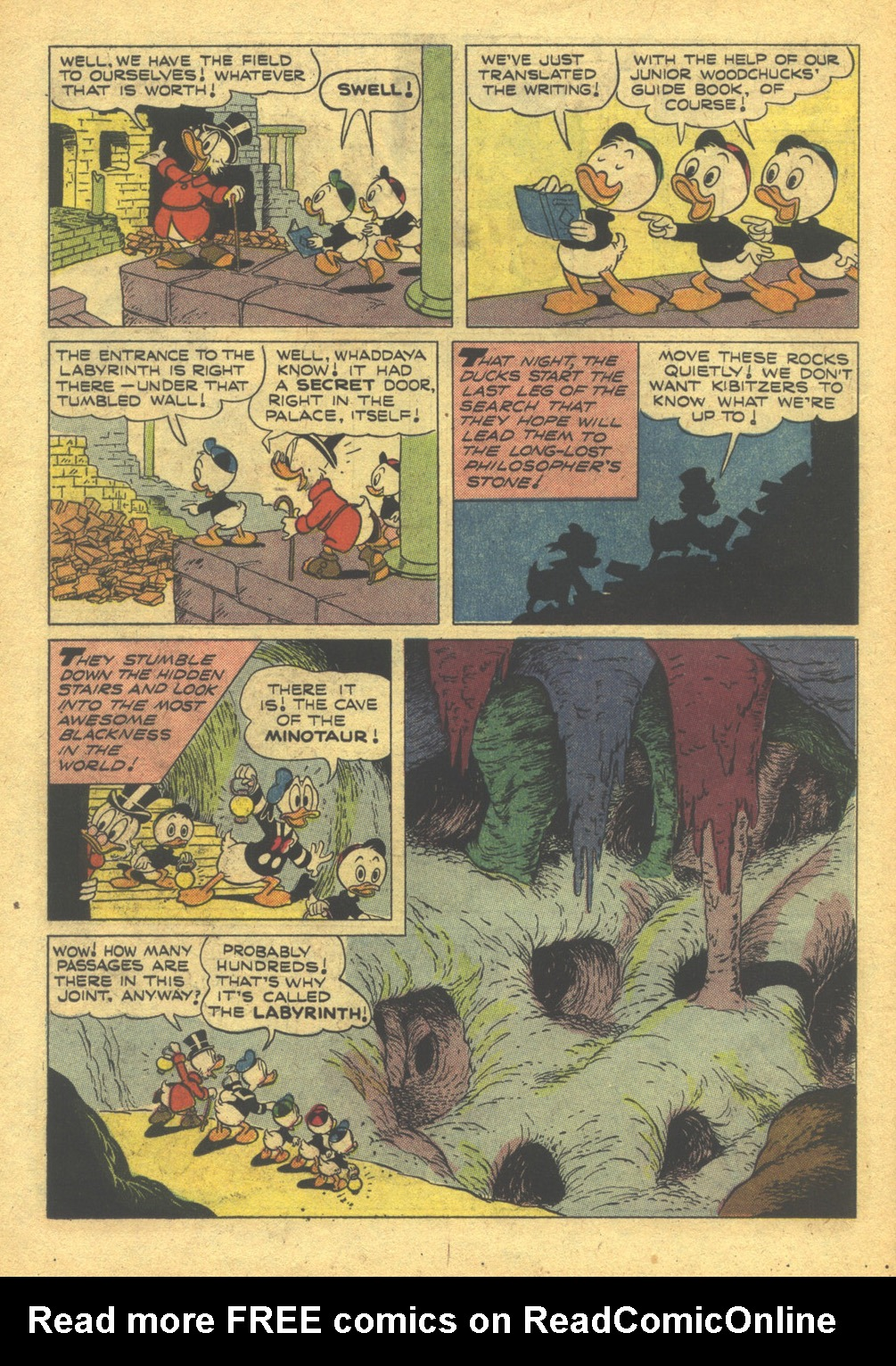 Read online Uncle Scrooge (1953) comic -  Issue #10 - 14