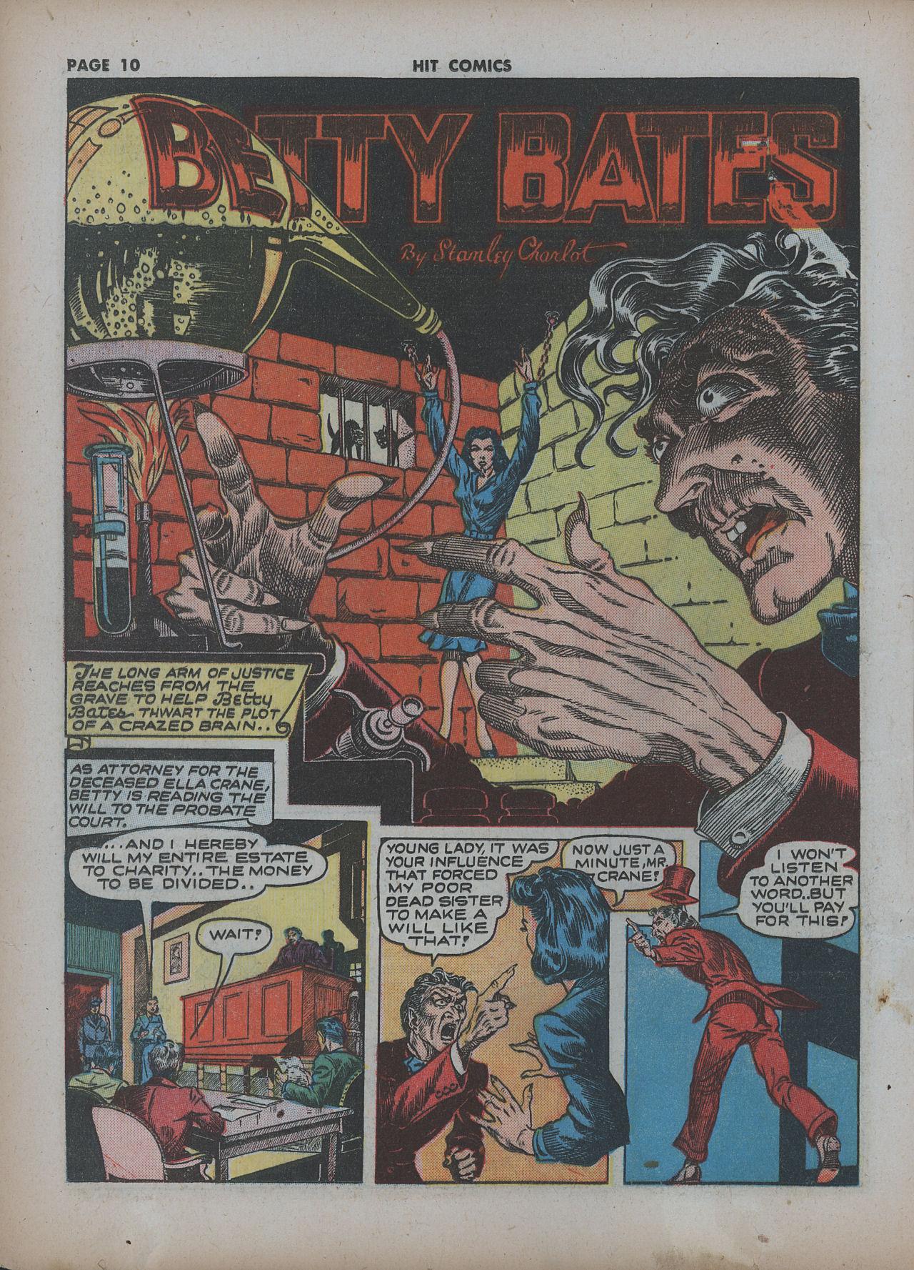 Read online Hit Comics comic -  Issue #22 - 12
