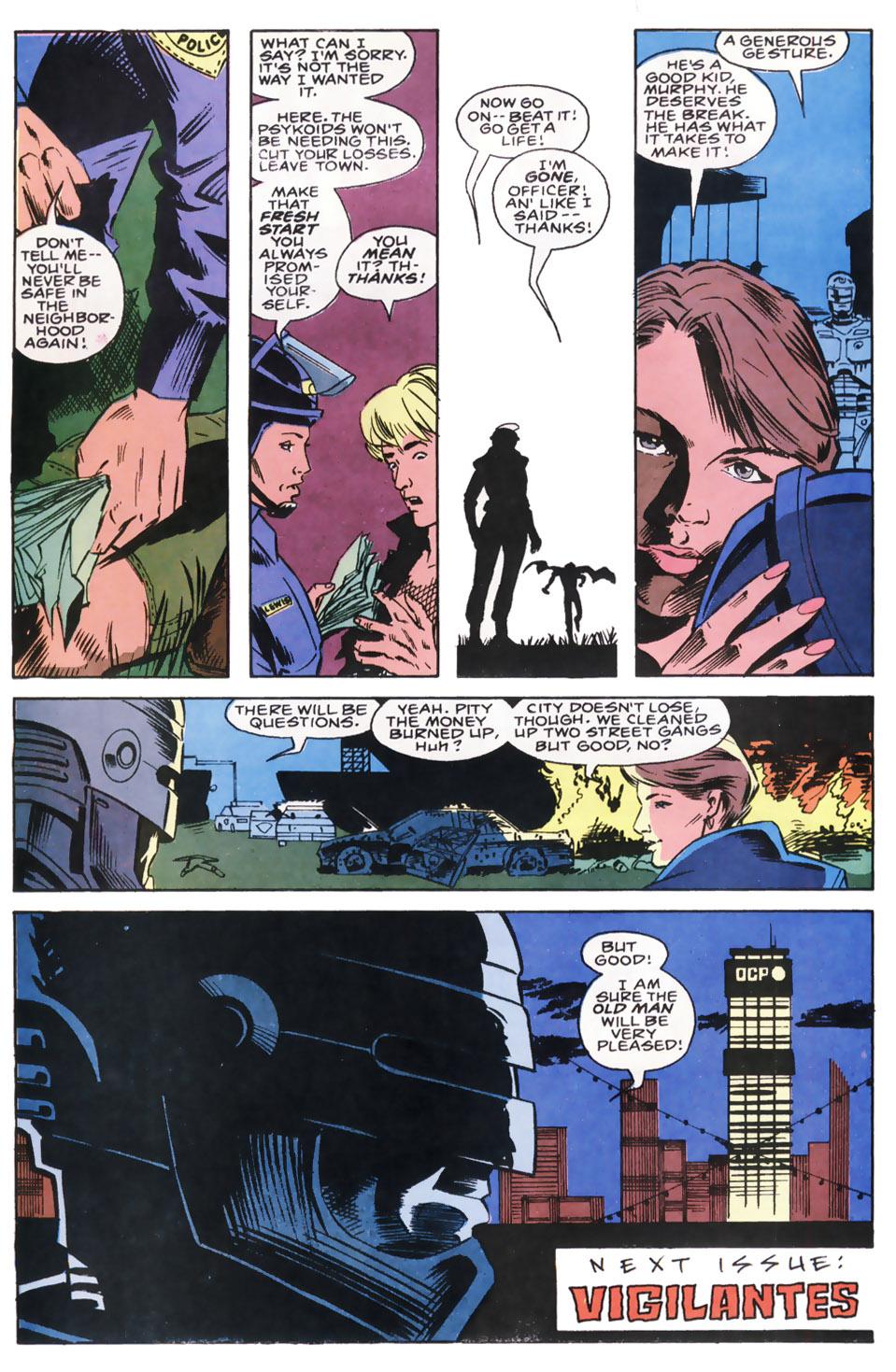 Read online Robocop (1990) comic -  Issue #8 - 23