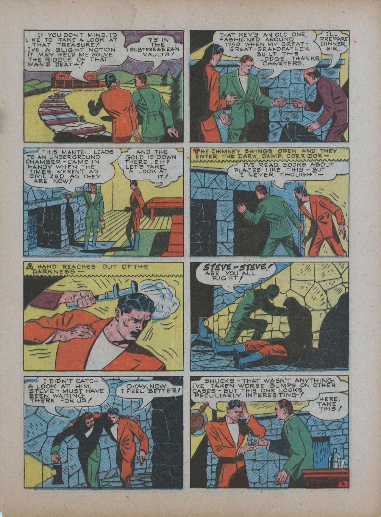 Read online Detective Comics (1937) comic -  Issue #48 - 45