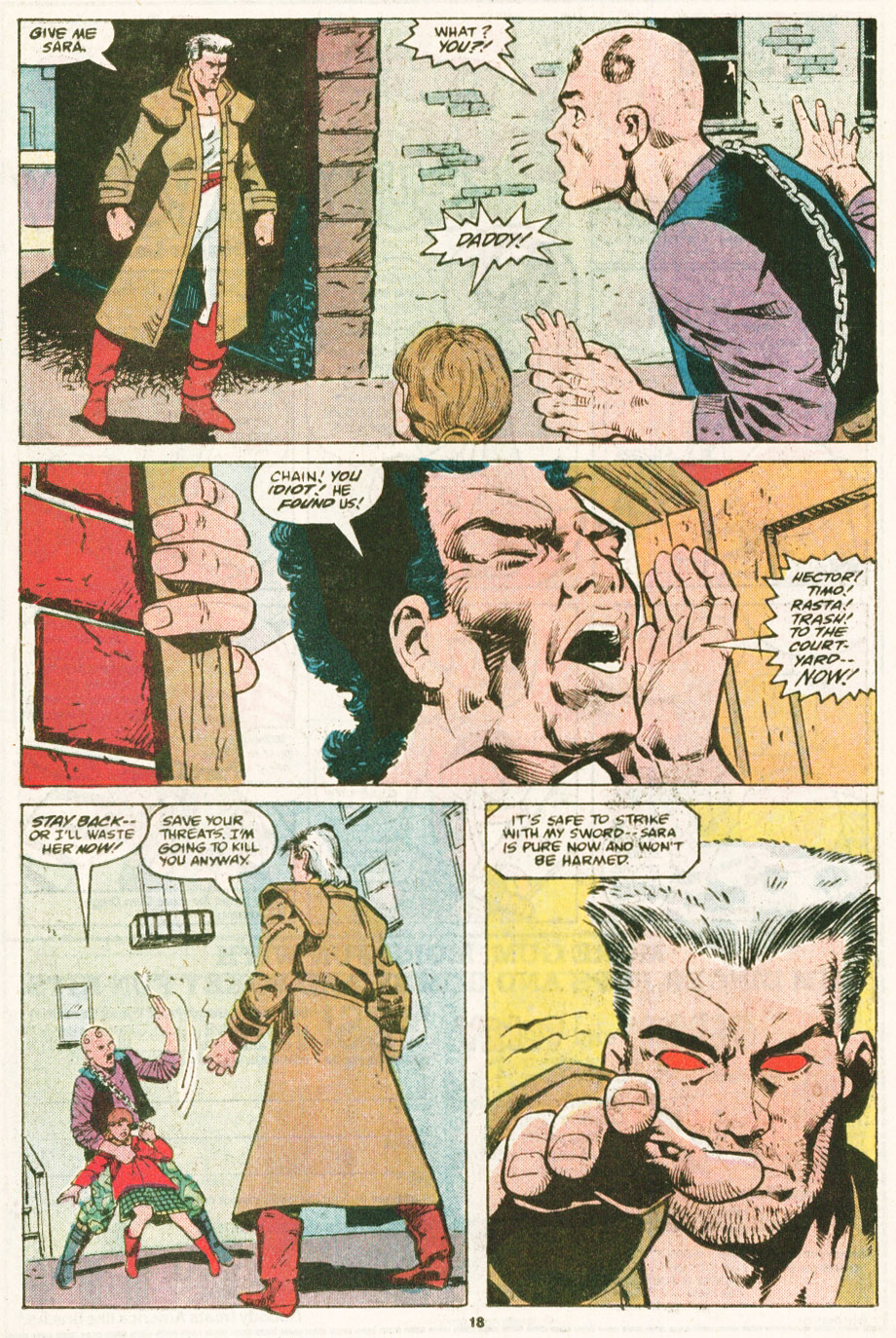 Read online Justice (1986) comic -  Issue #6 - 19