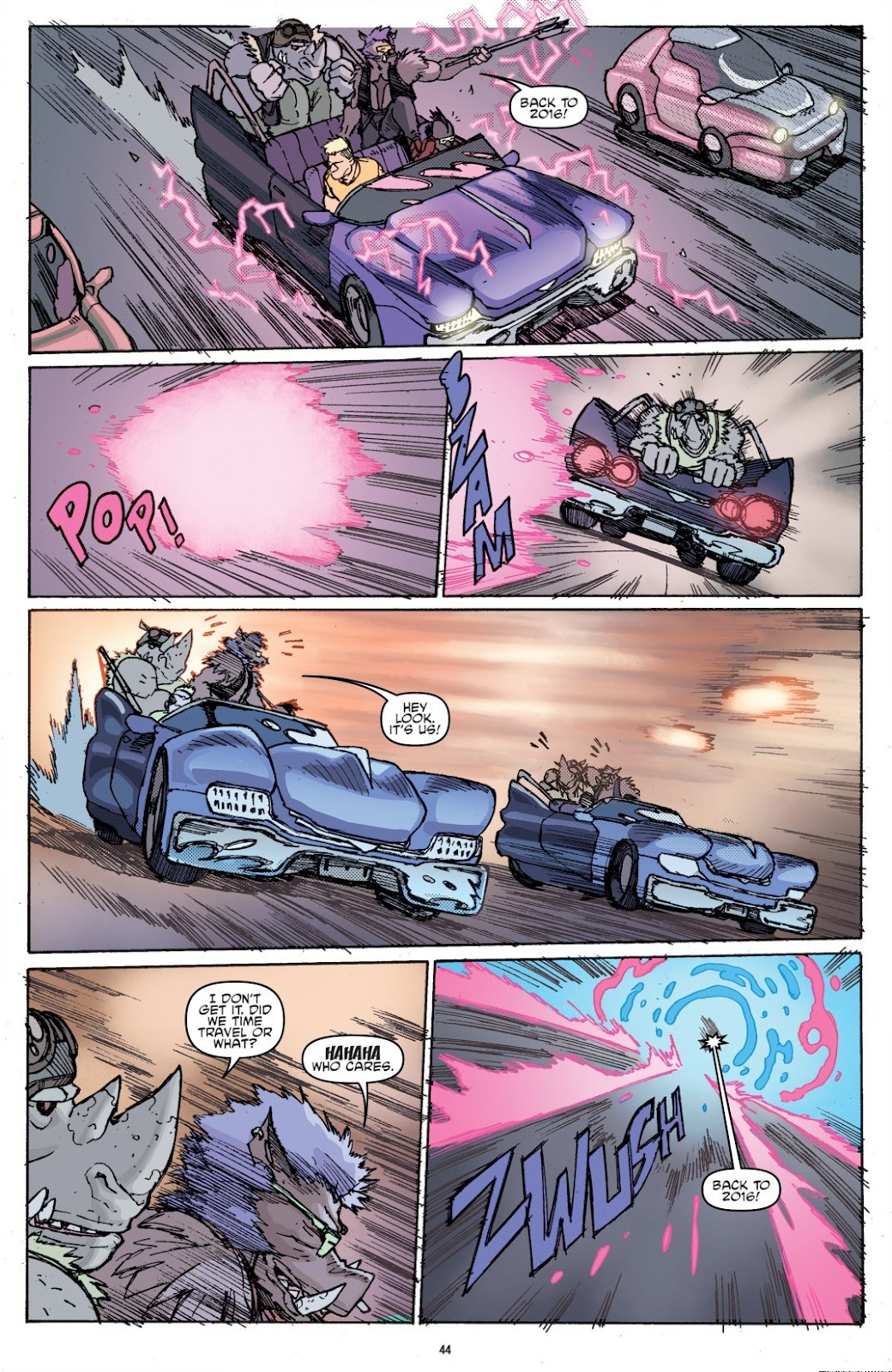Read online Teenage Mutant Ninja Turtles: The IDW Collection comic -  Issue # TPB 8 (Part 1) - 44