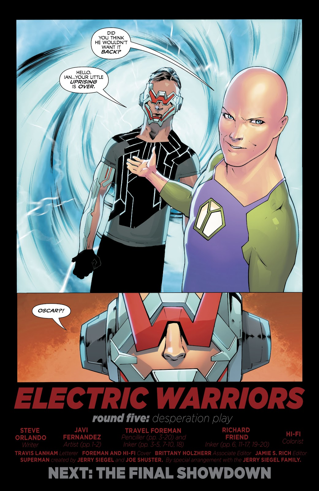 Read online Electric Warriors comic -  Issue #5 - 22
