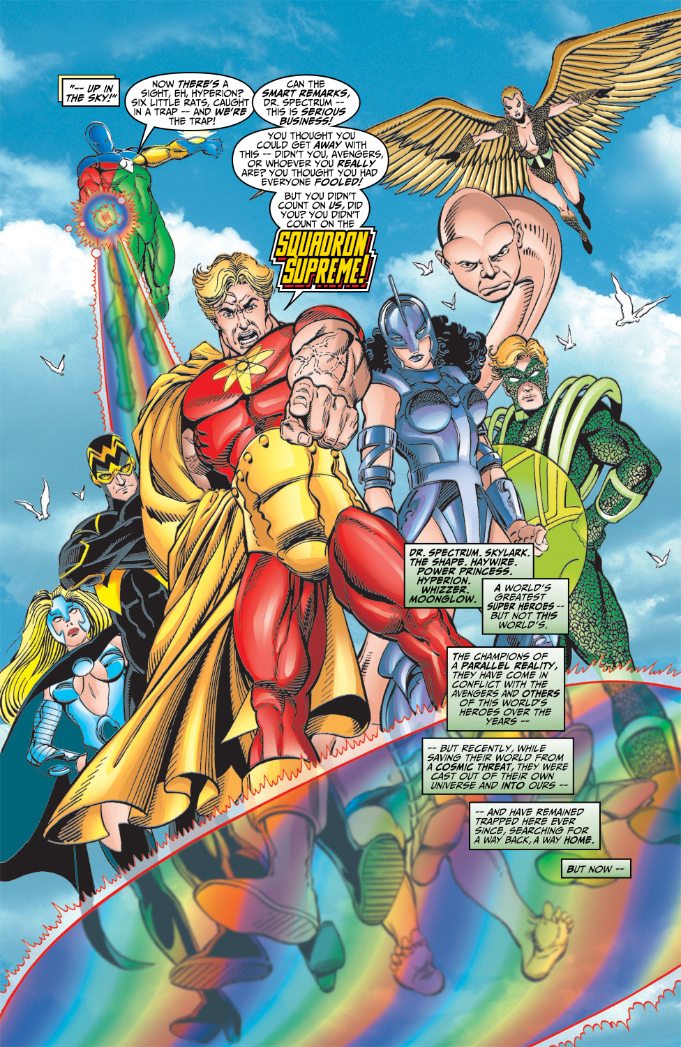 Read online Avengers (1998) comic -  Issue #5 - 11