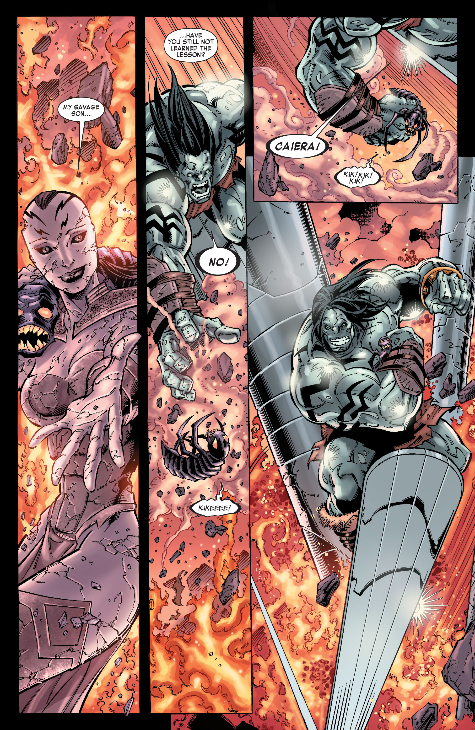 Read online Skaar: Son of Hulk comic -  Issue #10 - 8