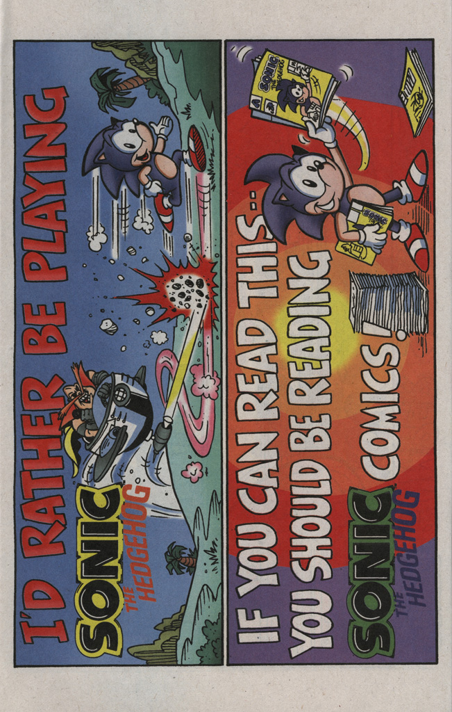 Read online Sonic the Hedgehog Free Comic Book Day Edition comic -  Issue # Special 2 - 20