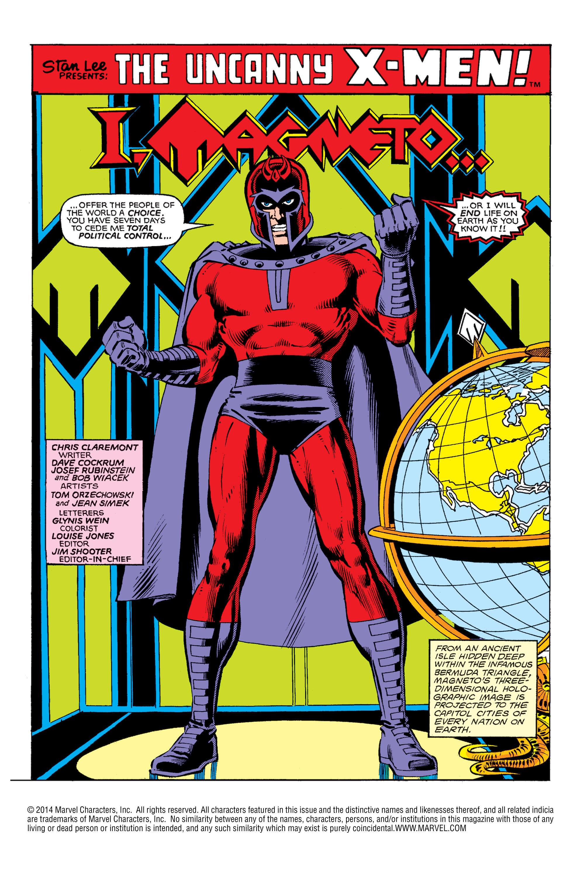 Read online Uncanny X-Men (1963) comic -  Issue #150 - 2