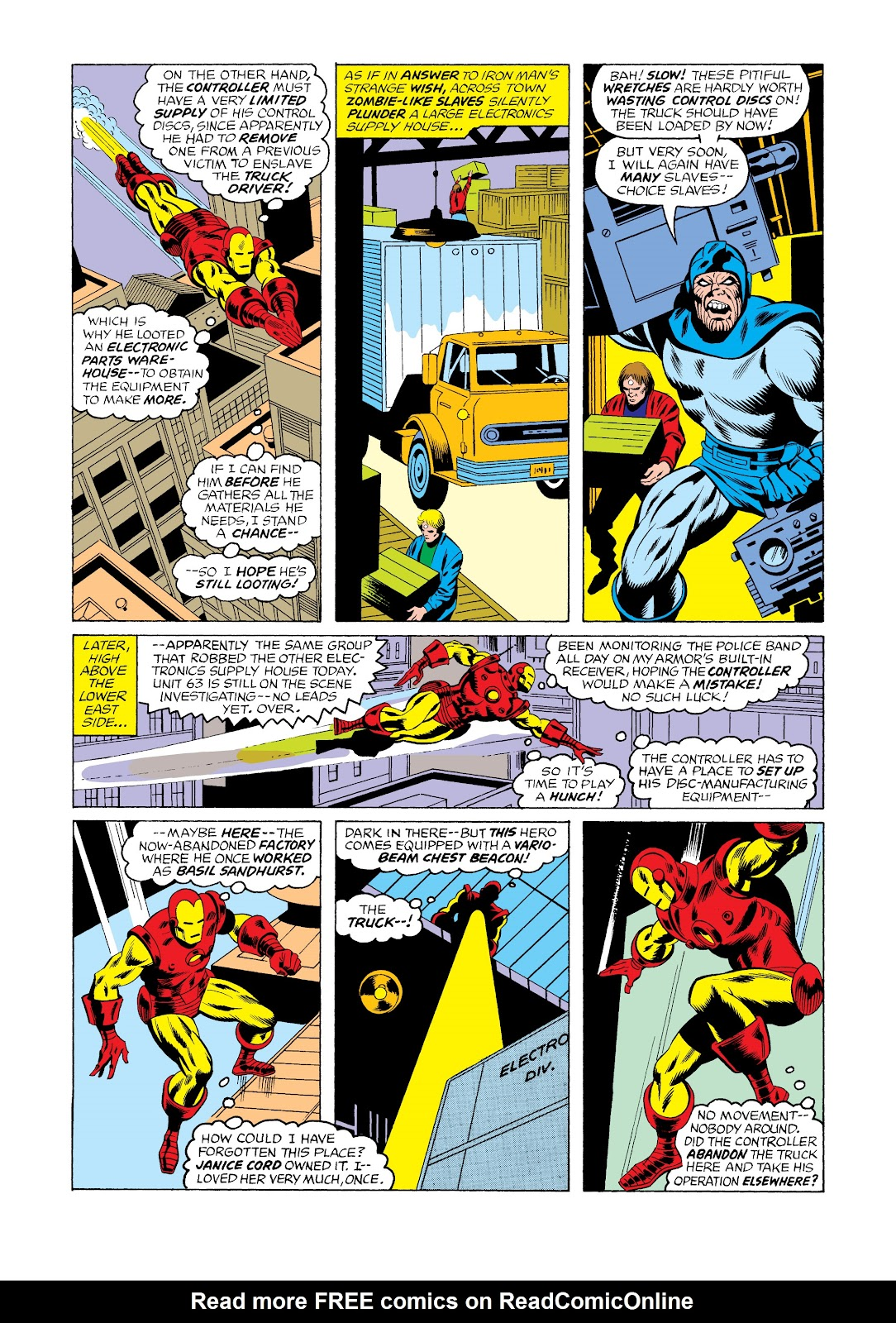 Read online Marvel Masterworks: The Invincible Iron Man comic -  Issue # TPB 11 (Part 3) - 5