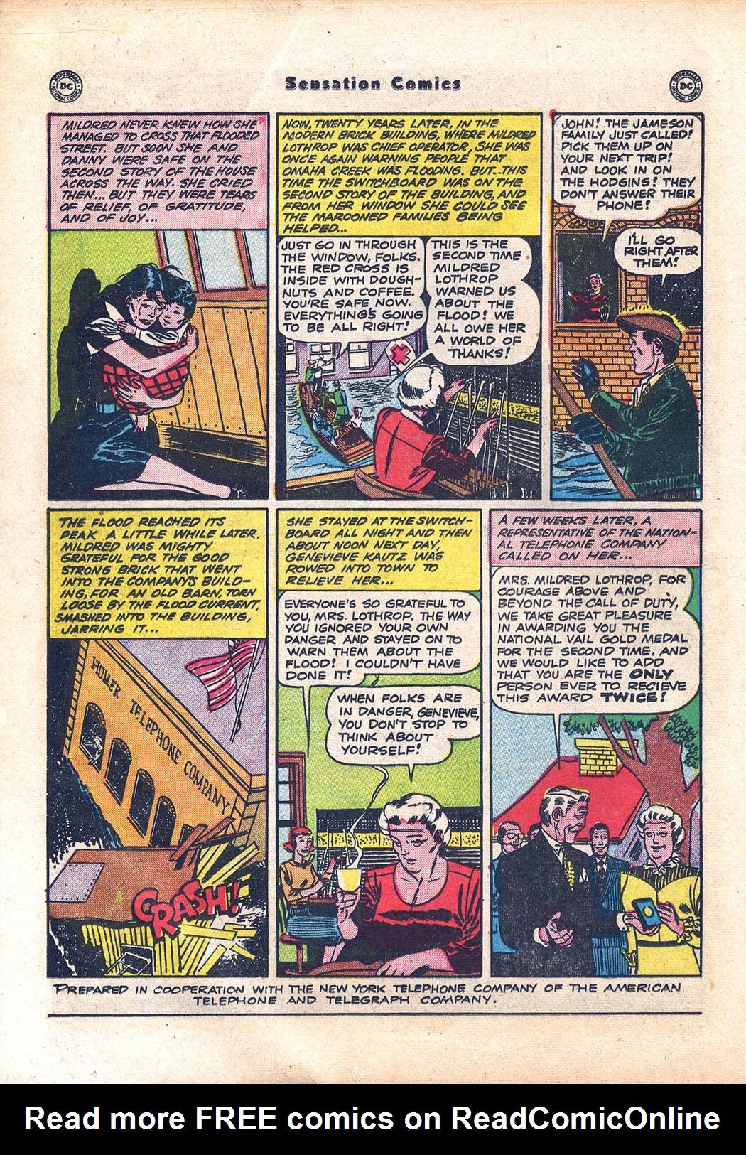Read online Sensation (Mystery) Comics comic -  Issue #94 - 20