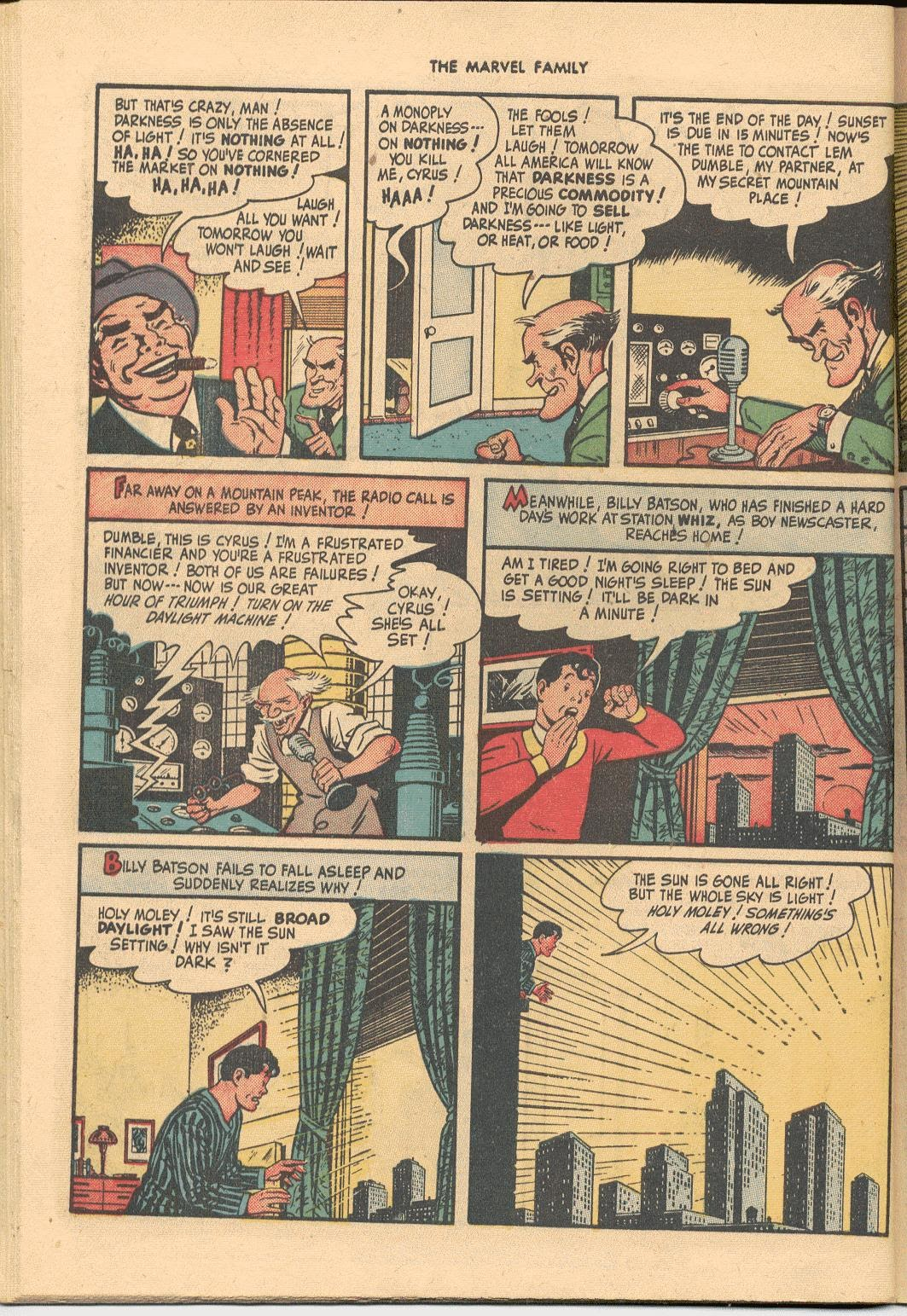 The Marvel Family issue 38 - Page 42
