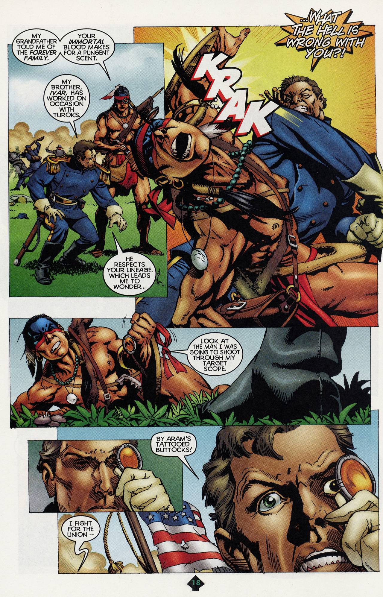 Read online Turok: Tales of the Lost Land comic -  Issue # Full - 16