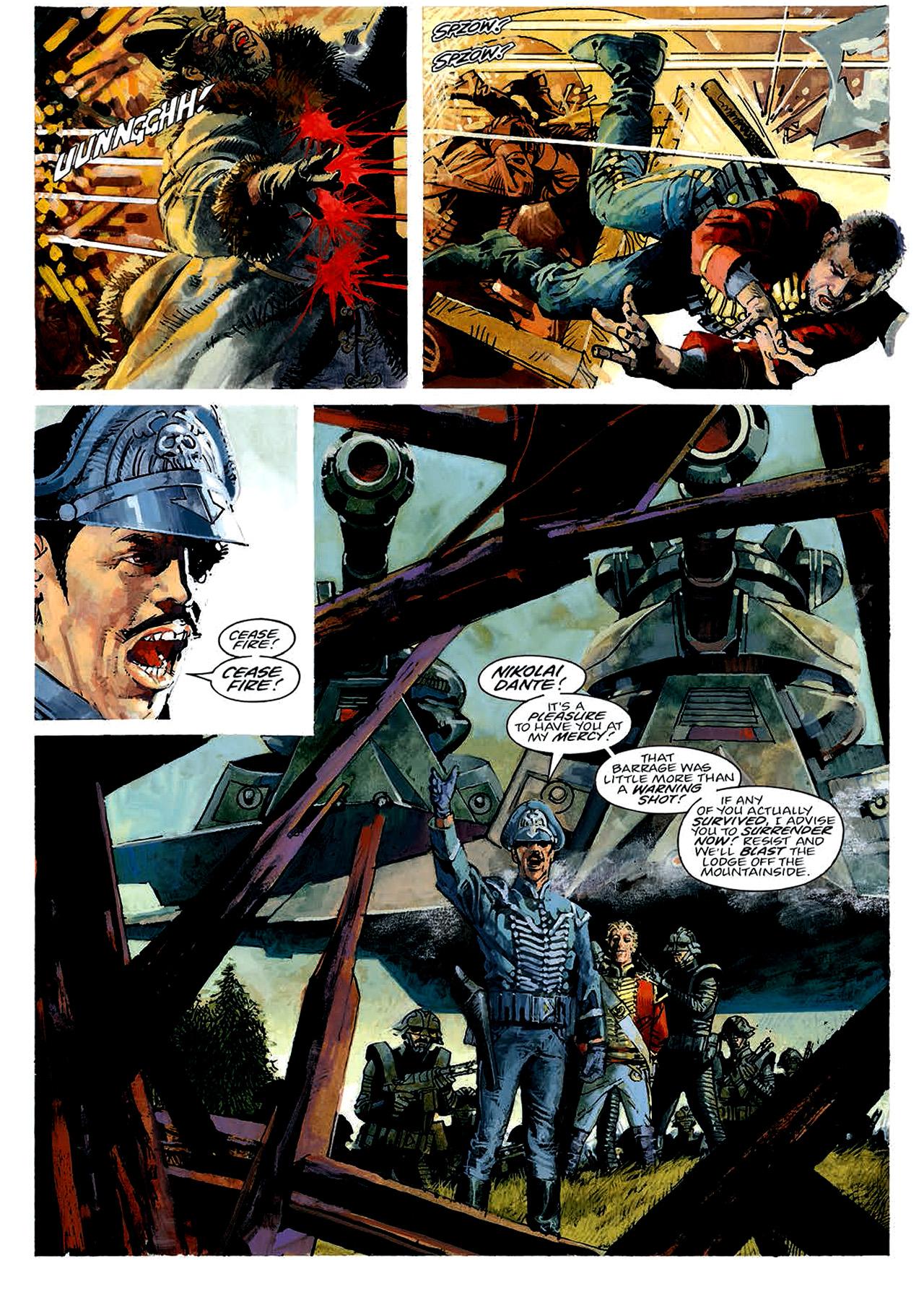 Read online Nikolai Dante comic -  Issue # TPB 4 - 33
