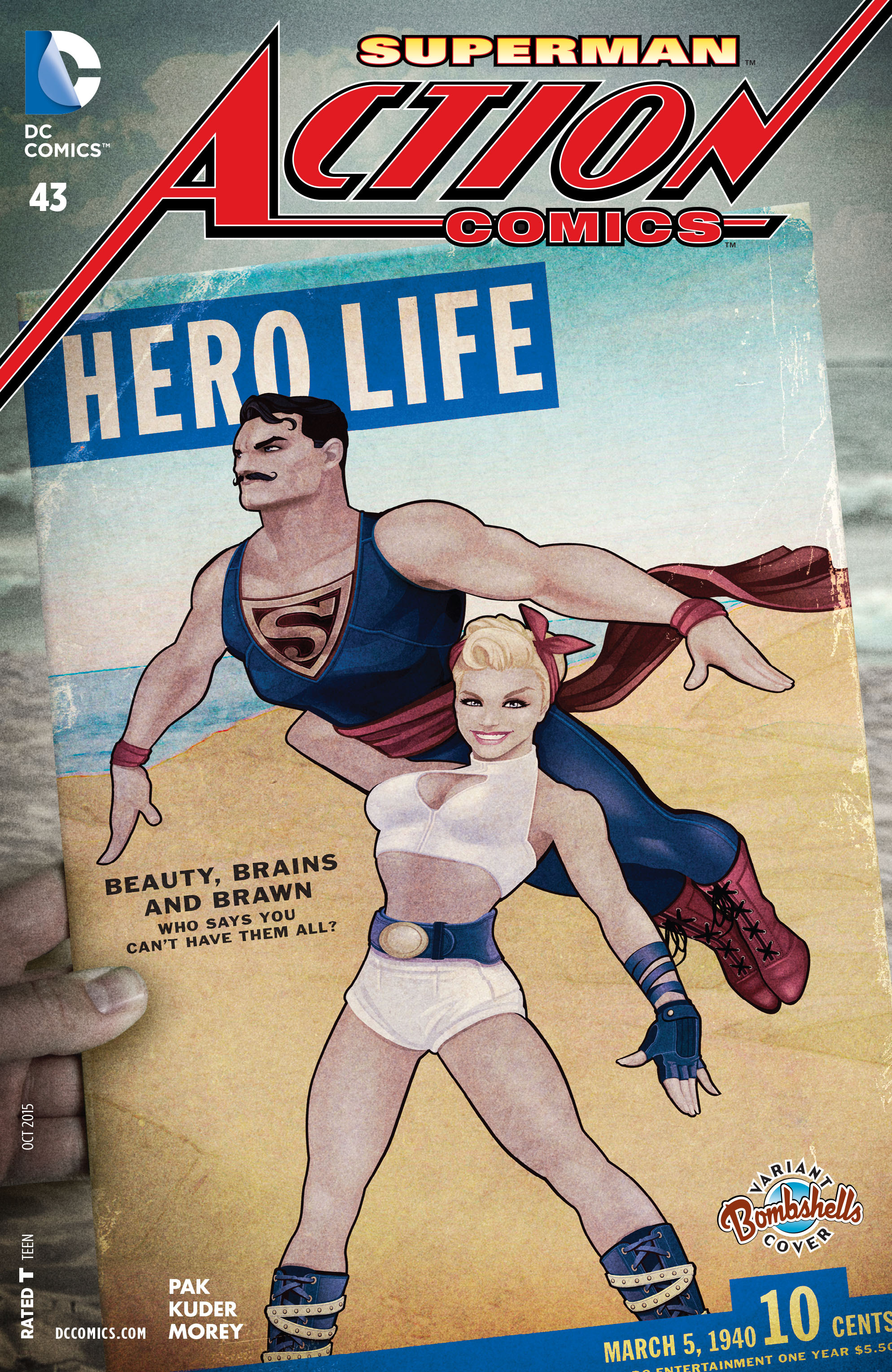 Read online Action Comics (2011) comic -  Issue #43 - 3
